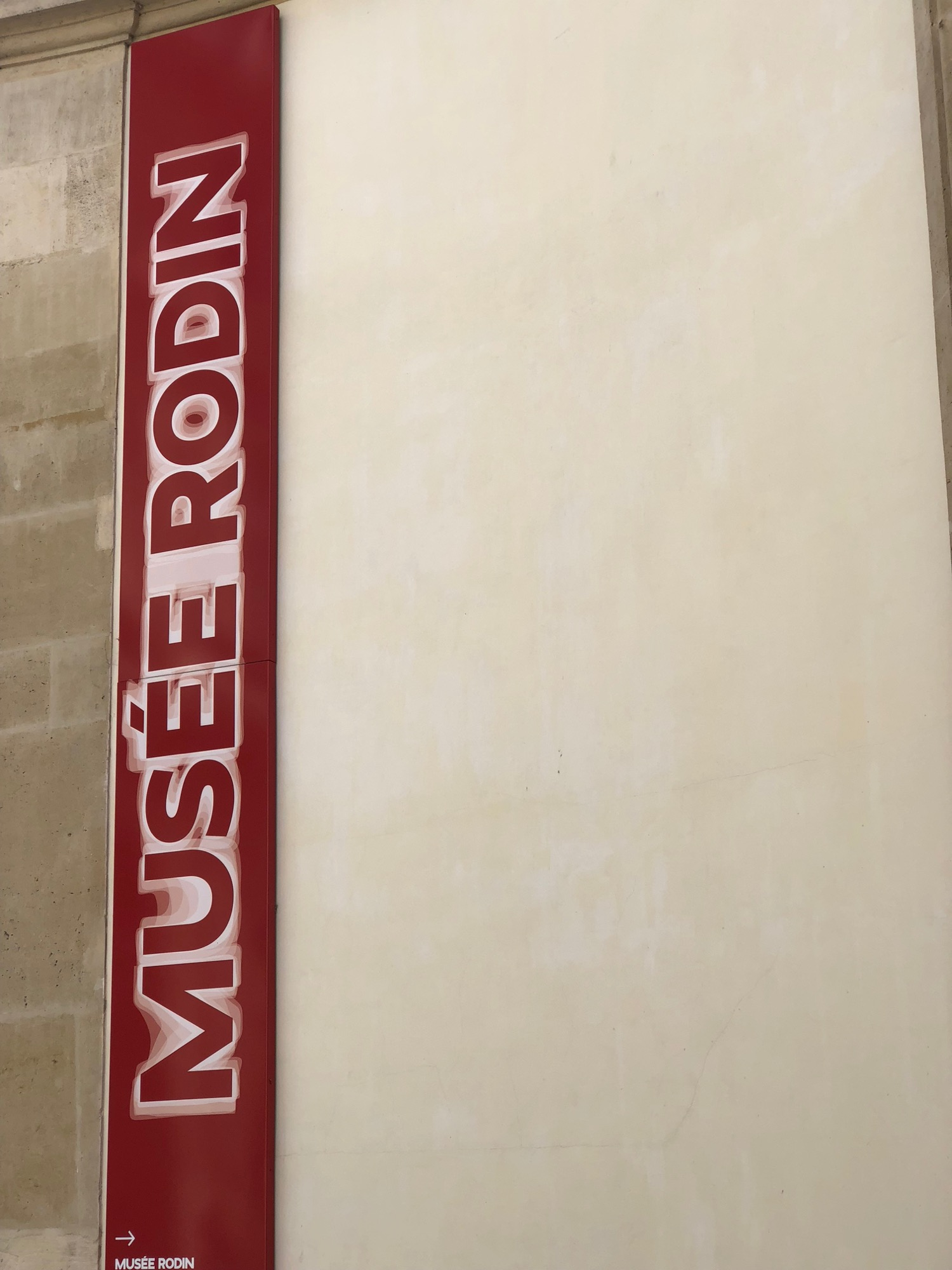 My second stop was the Musee Rodin