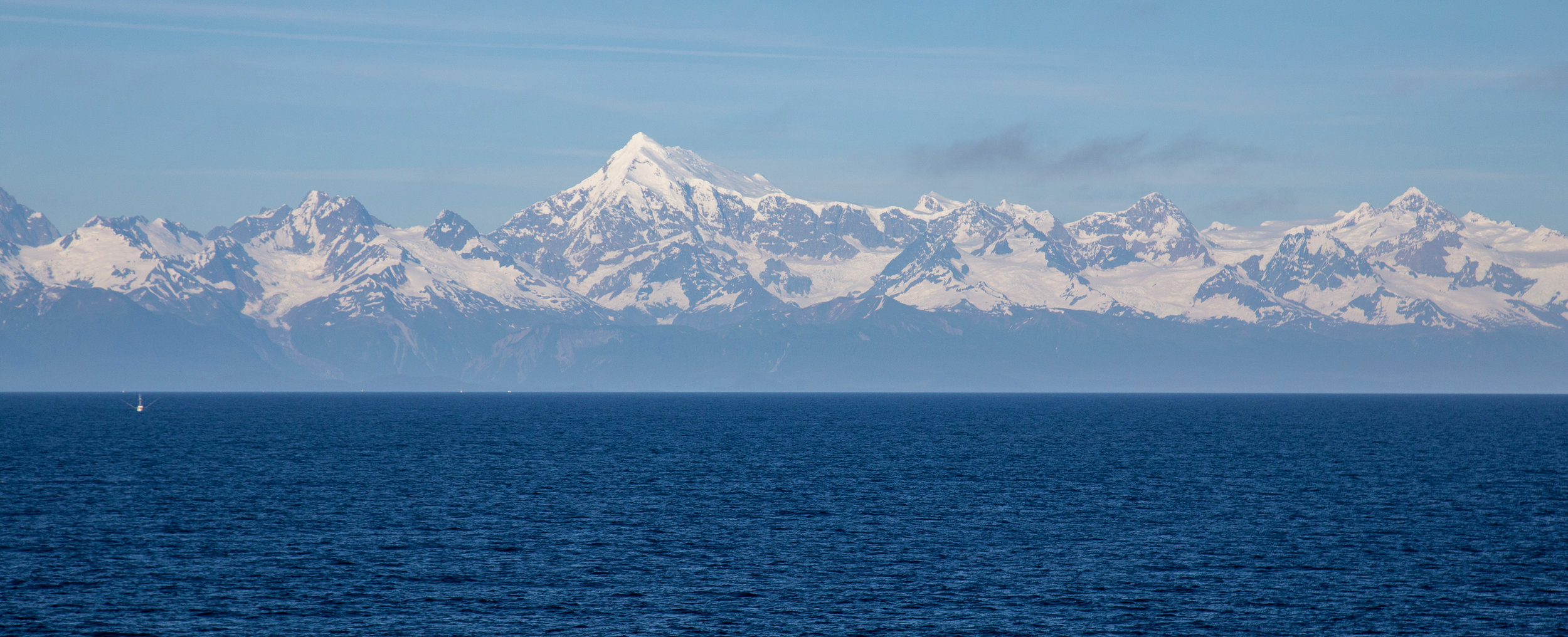 As we headed back towards Juneau, Mount Fairweather dominated the views.