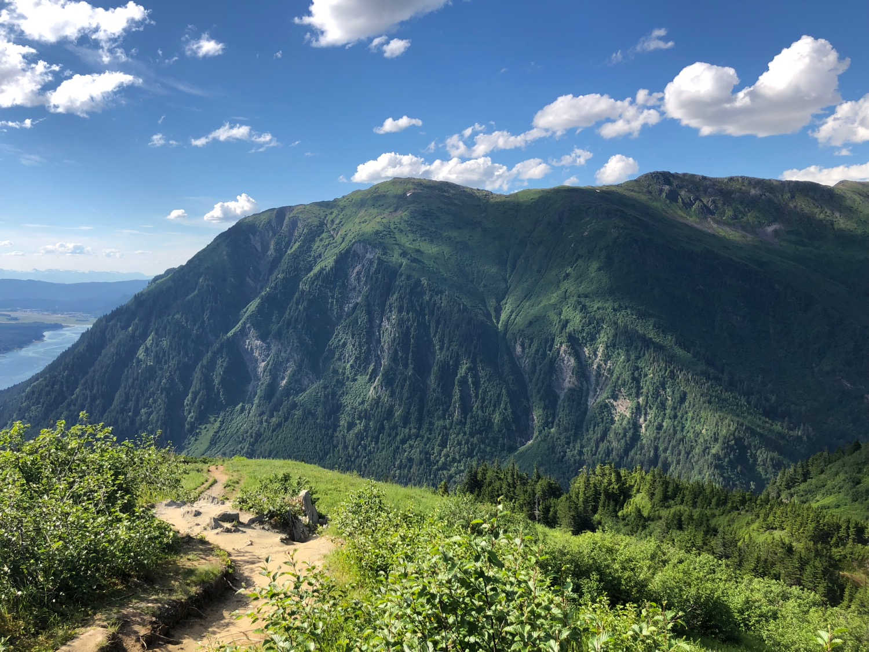 Mount Juneau, from Mount Roberts