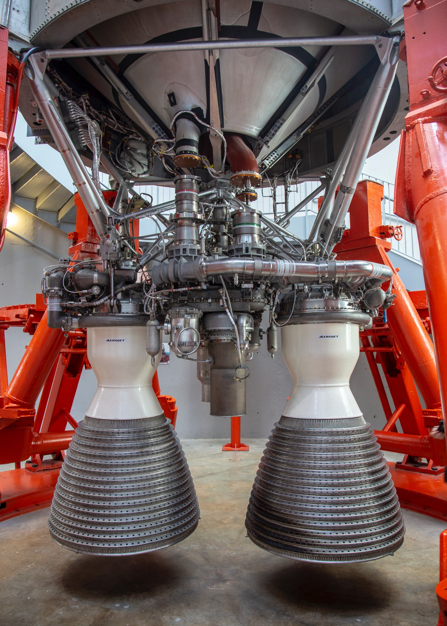 The engines of the Titan II