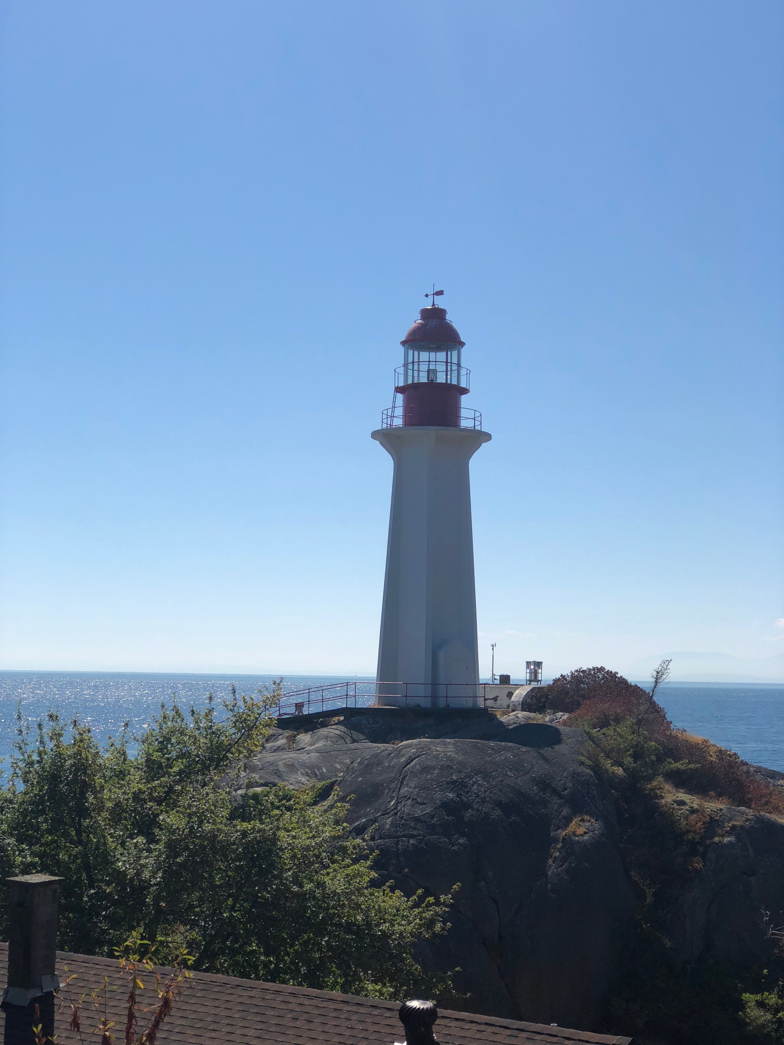 The lighthouse at Lighthouse Park