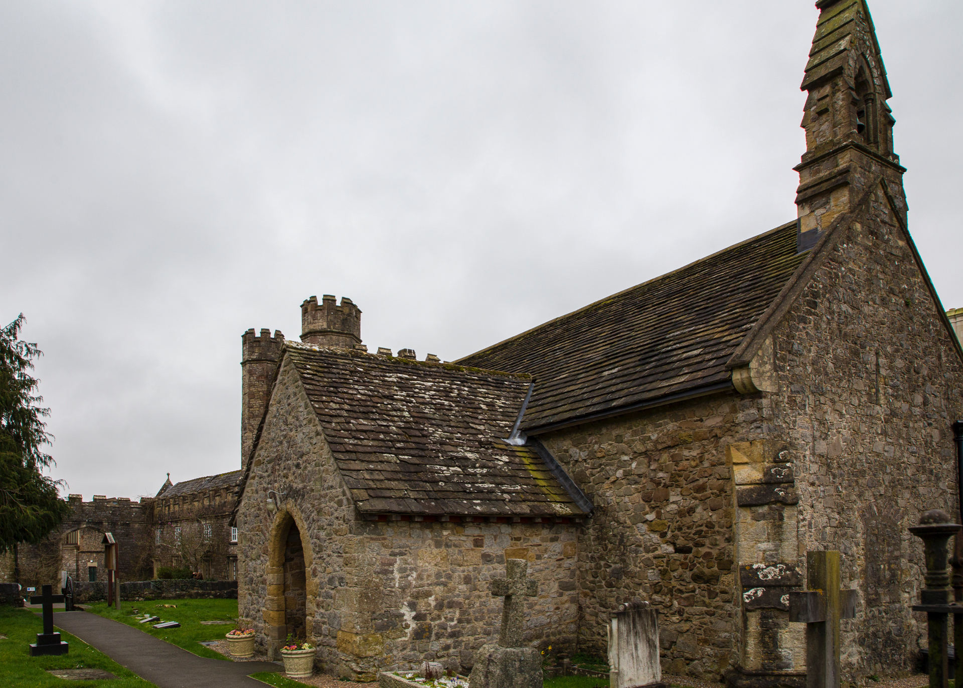 Another view of the old church.