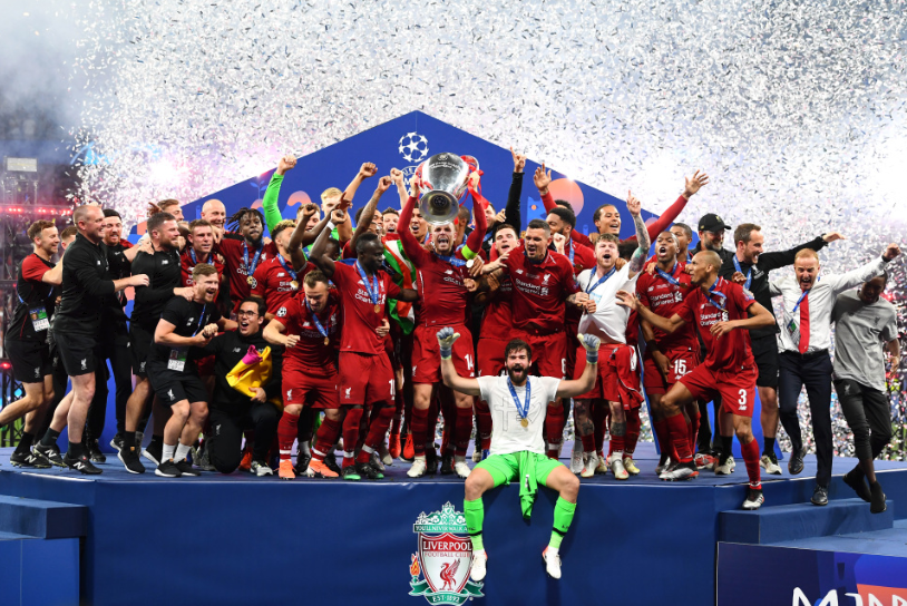 Liverpool - Champions League winners for 2019!