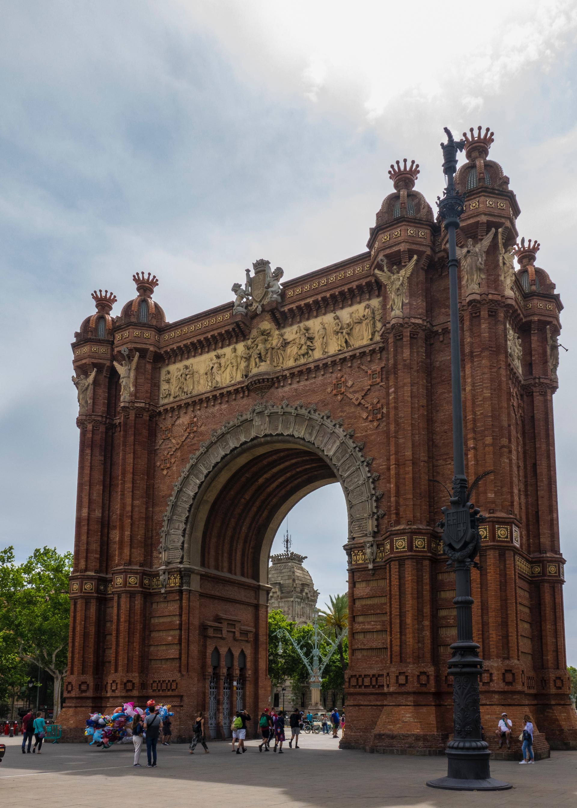 Barcelona has its own Arc de Triomphe