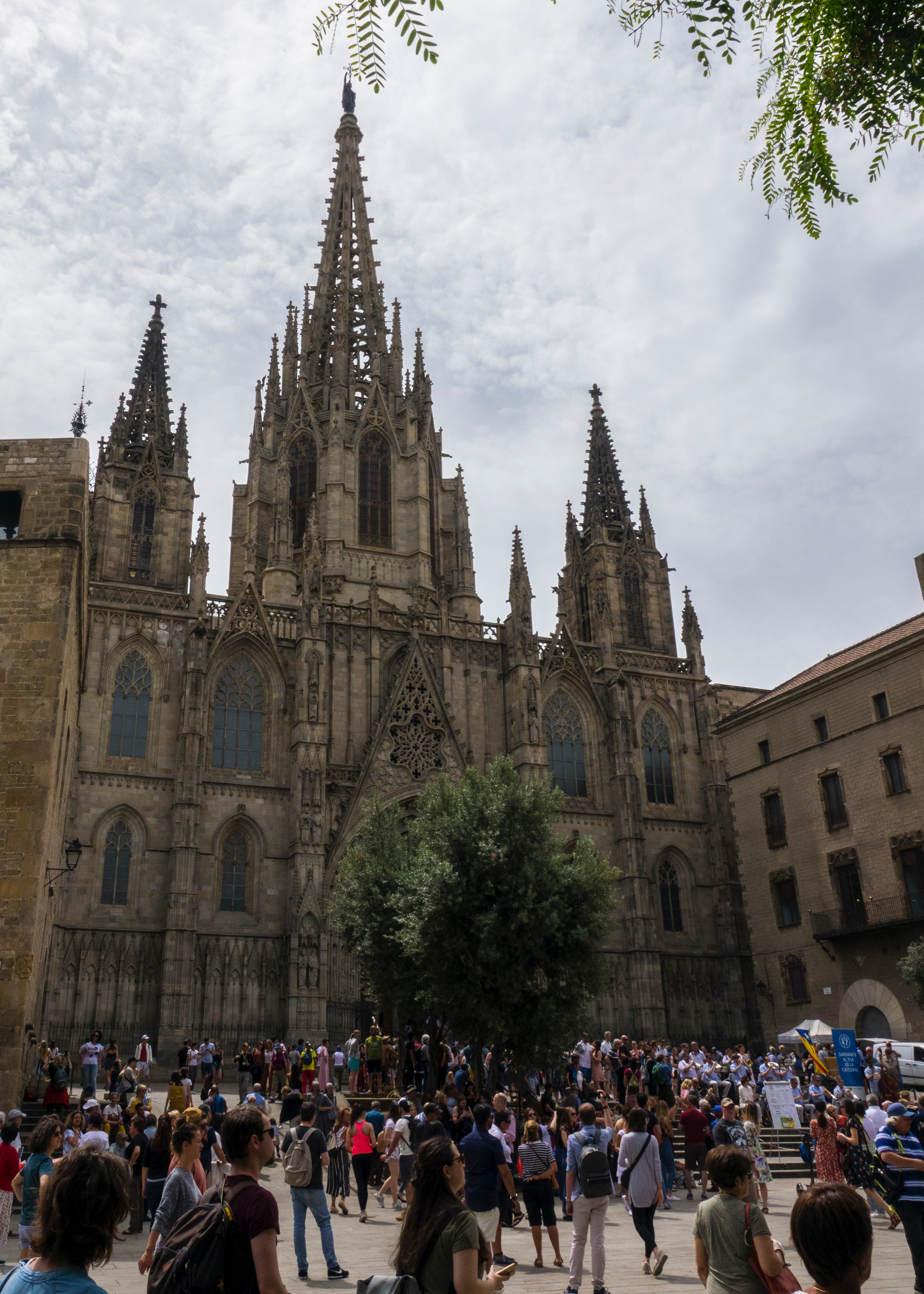 The Barcelona Cathedral - the original gothic masterpiece.