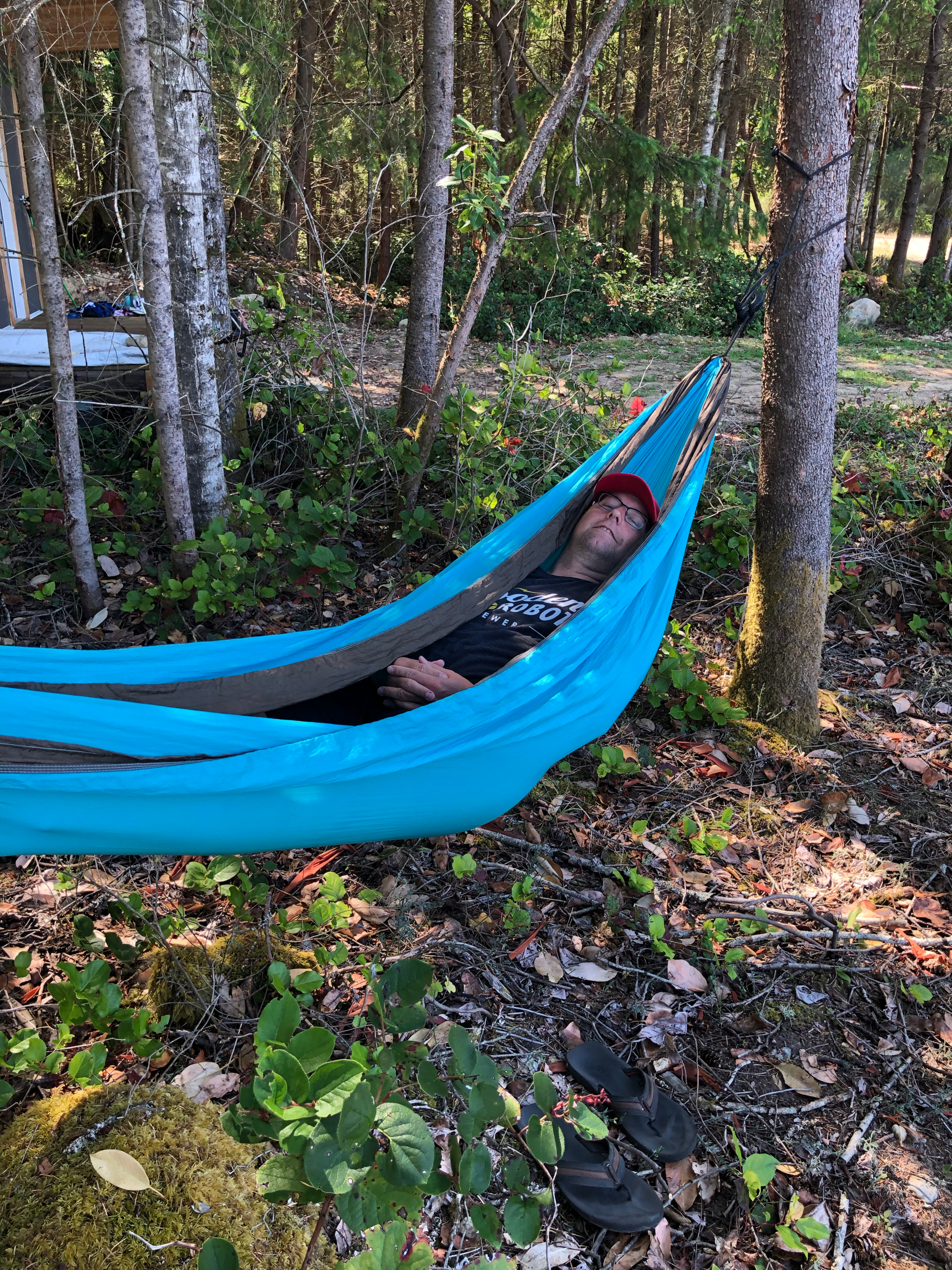 And I may have had a nap in the hammock…
