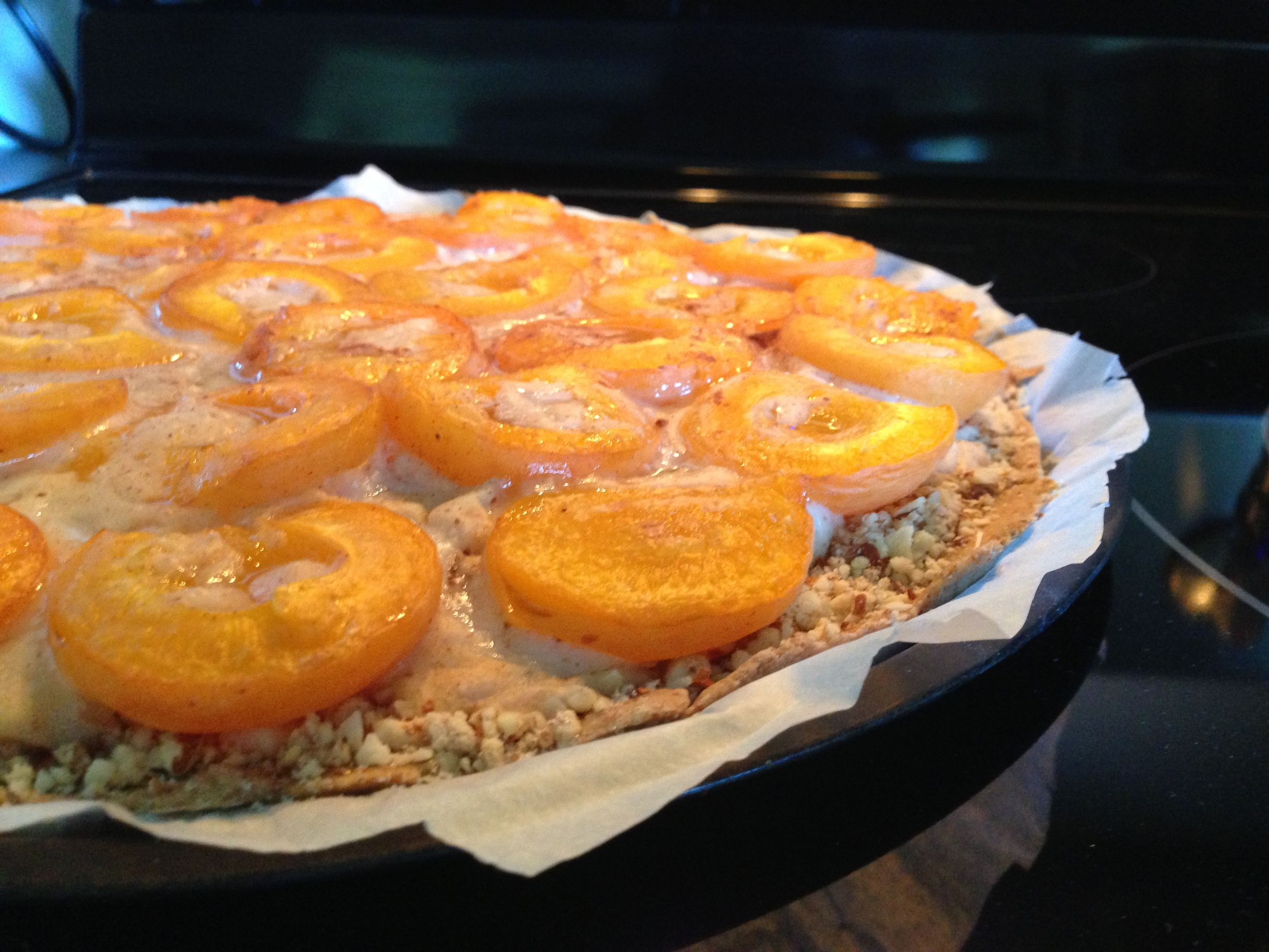 Fresh outta the oven! Warm & Juicy Apricots!