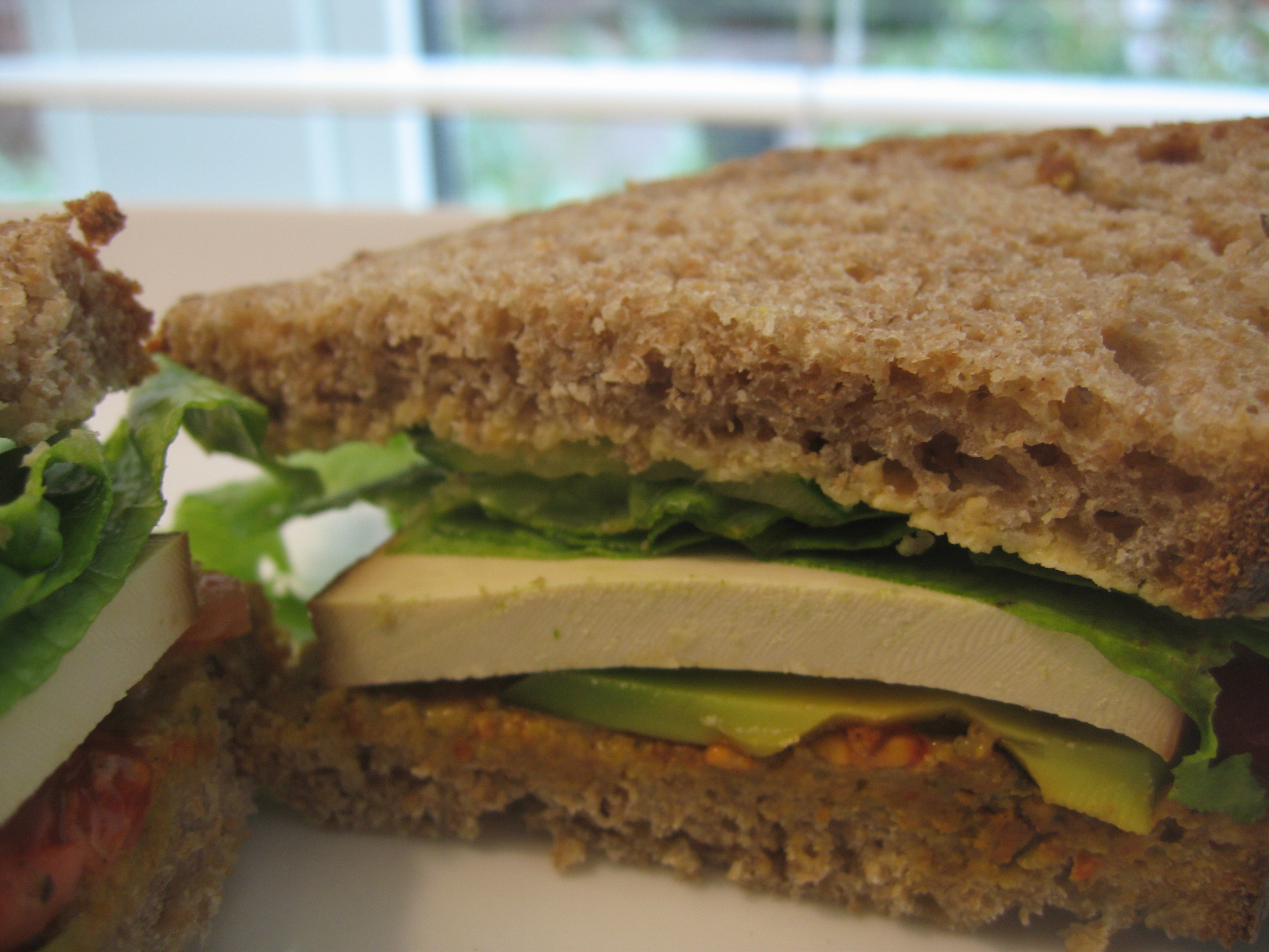 Vegan Sandwich to go <3