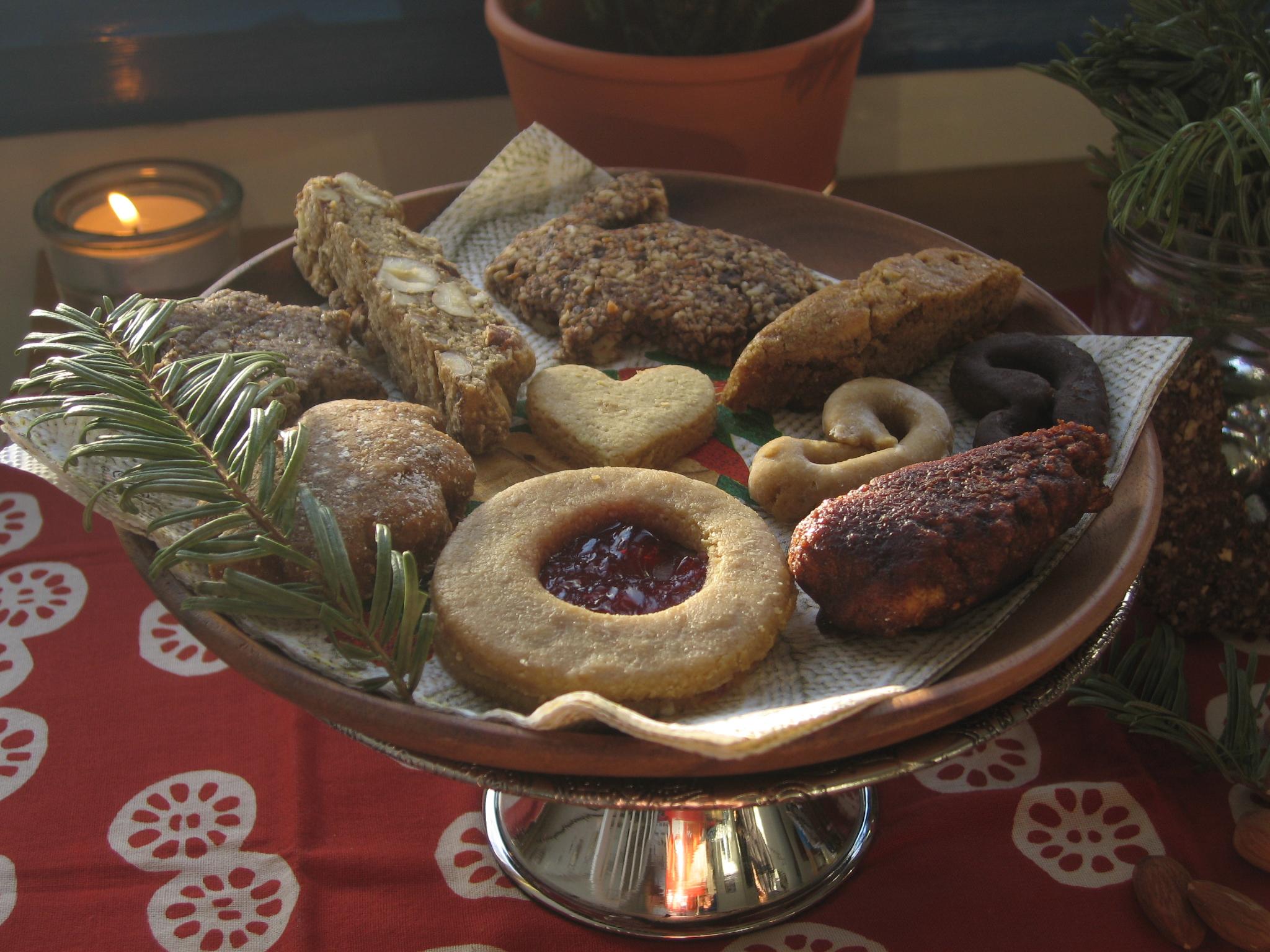 Last year's Christmas baking extravaganza.