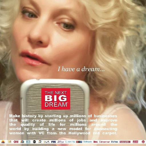 Critically-acclaimed bestselling business author Kim Lavine, Writer/Producer of THE NEXT BIG DREAM