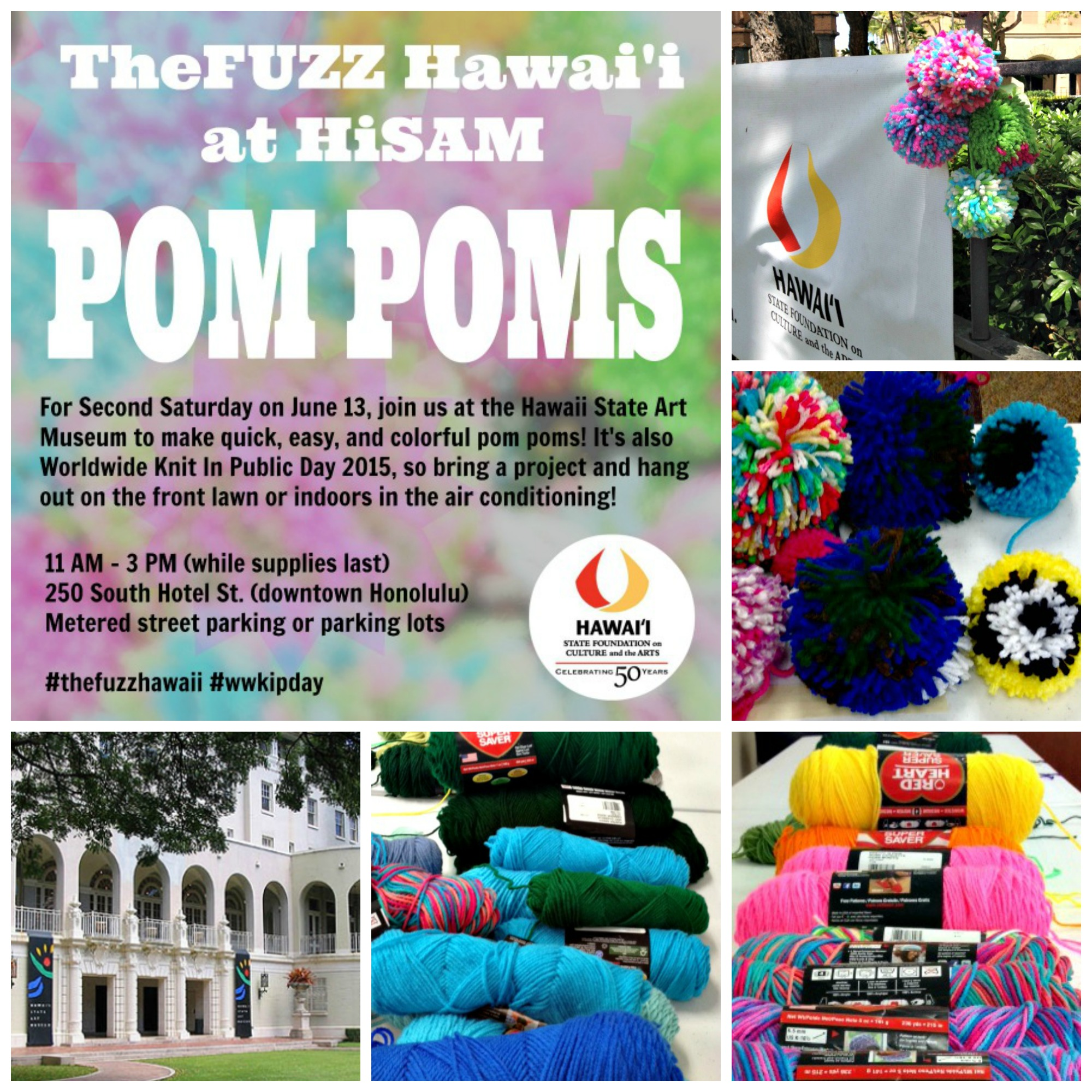 Second Saturday June 13, 2015 | TheFUZZ Hawai'i @HiSAM