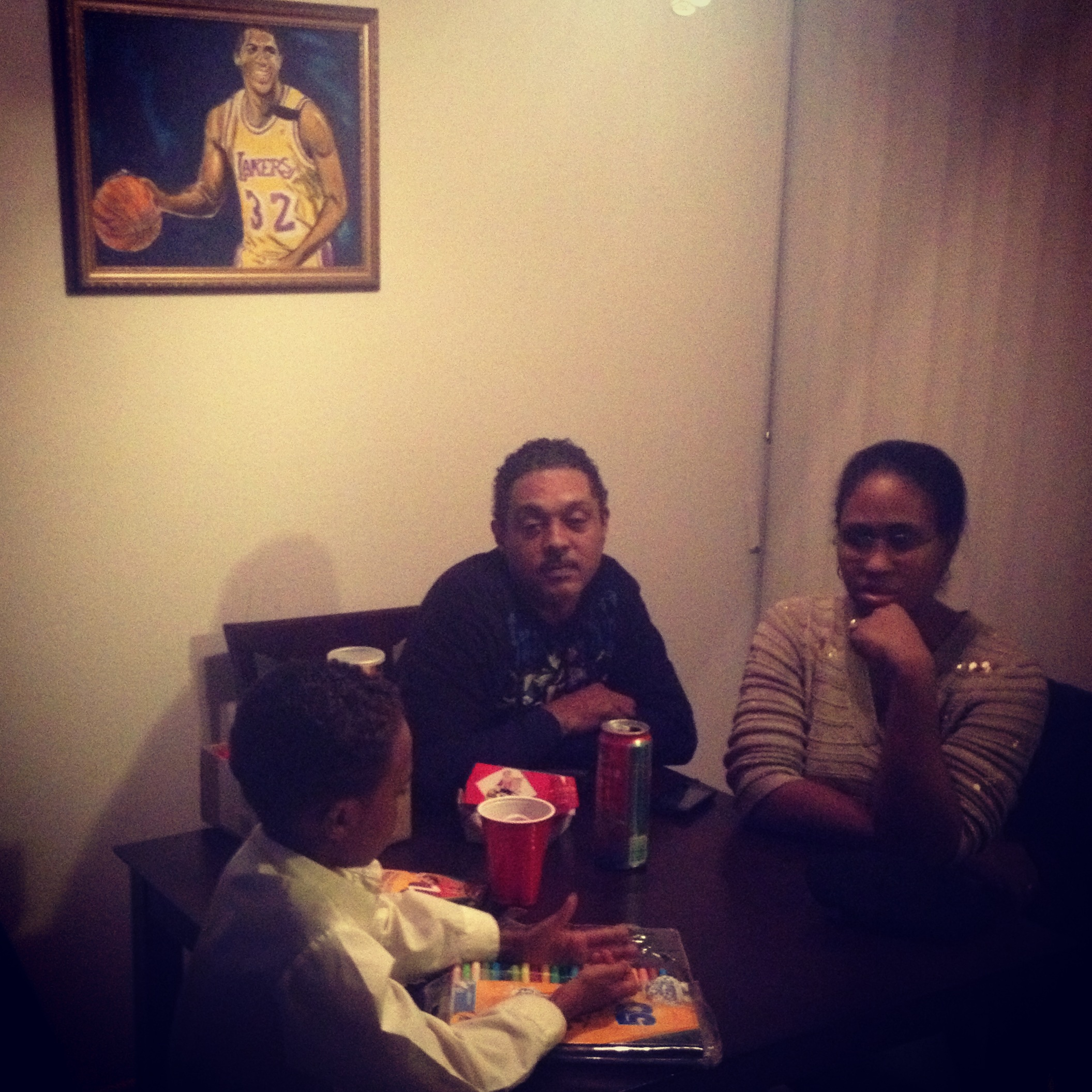 The true magic... Family time, we was raised off Showtime.