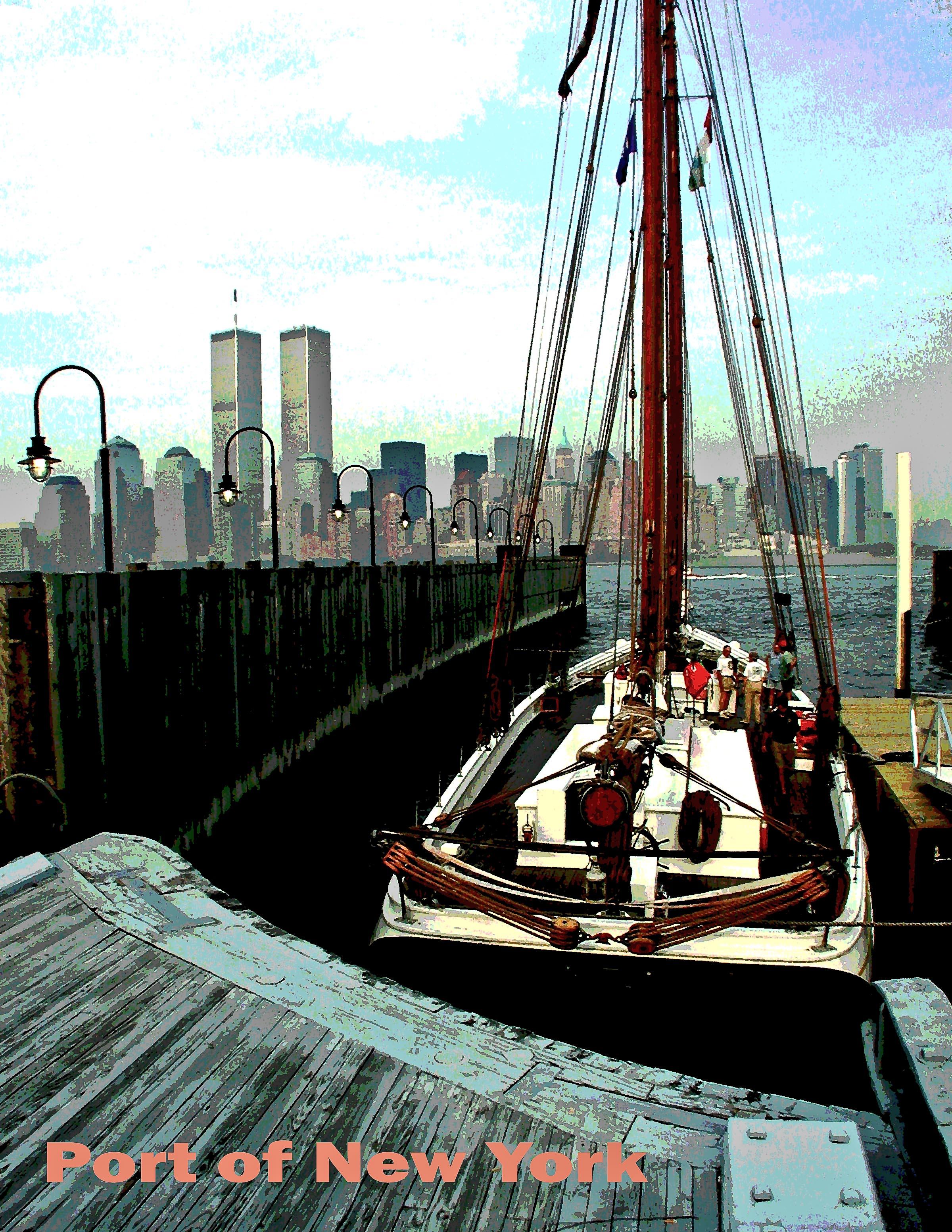 Jersey City Harbor