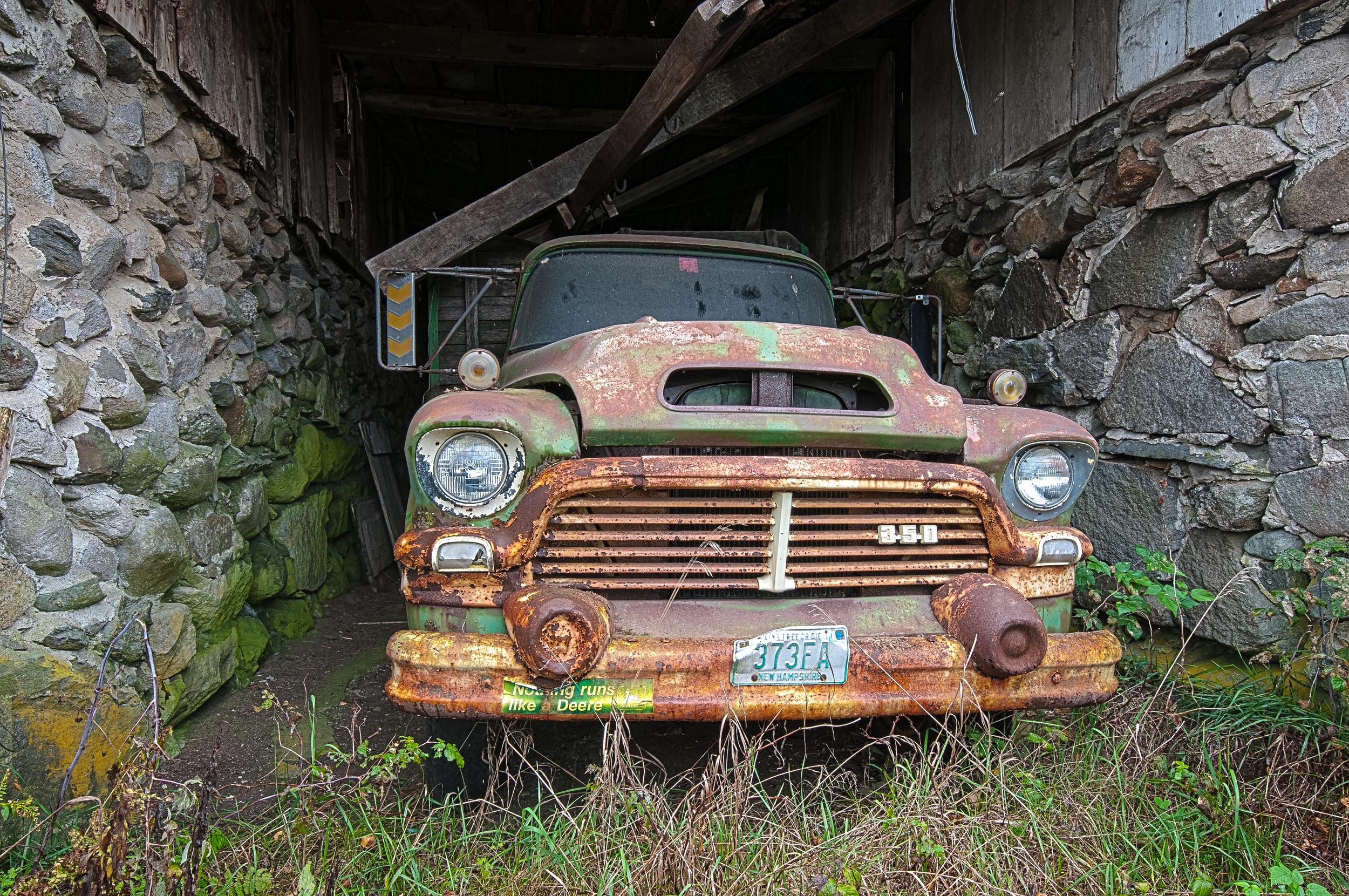 Abandoned Truck 1