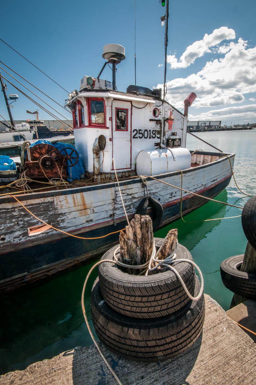 Fishing Boat at Harbor
