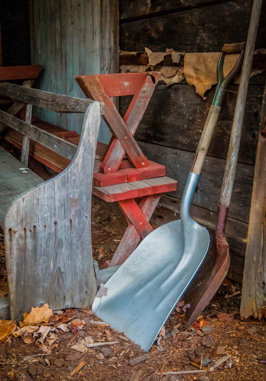 Hand Tools at the Barn