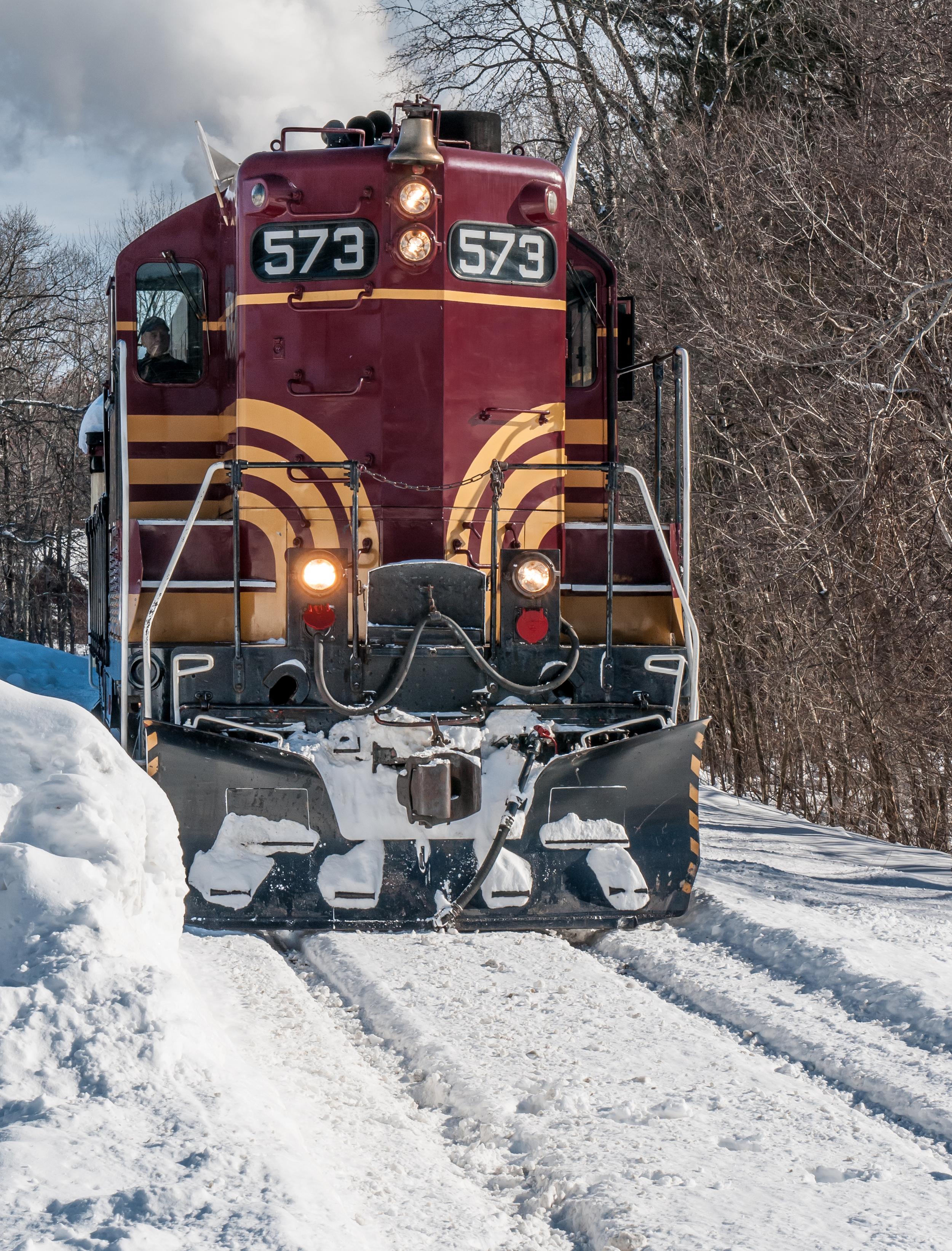 Diesel in Snow 1