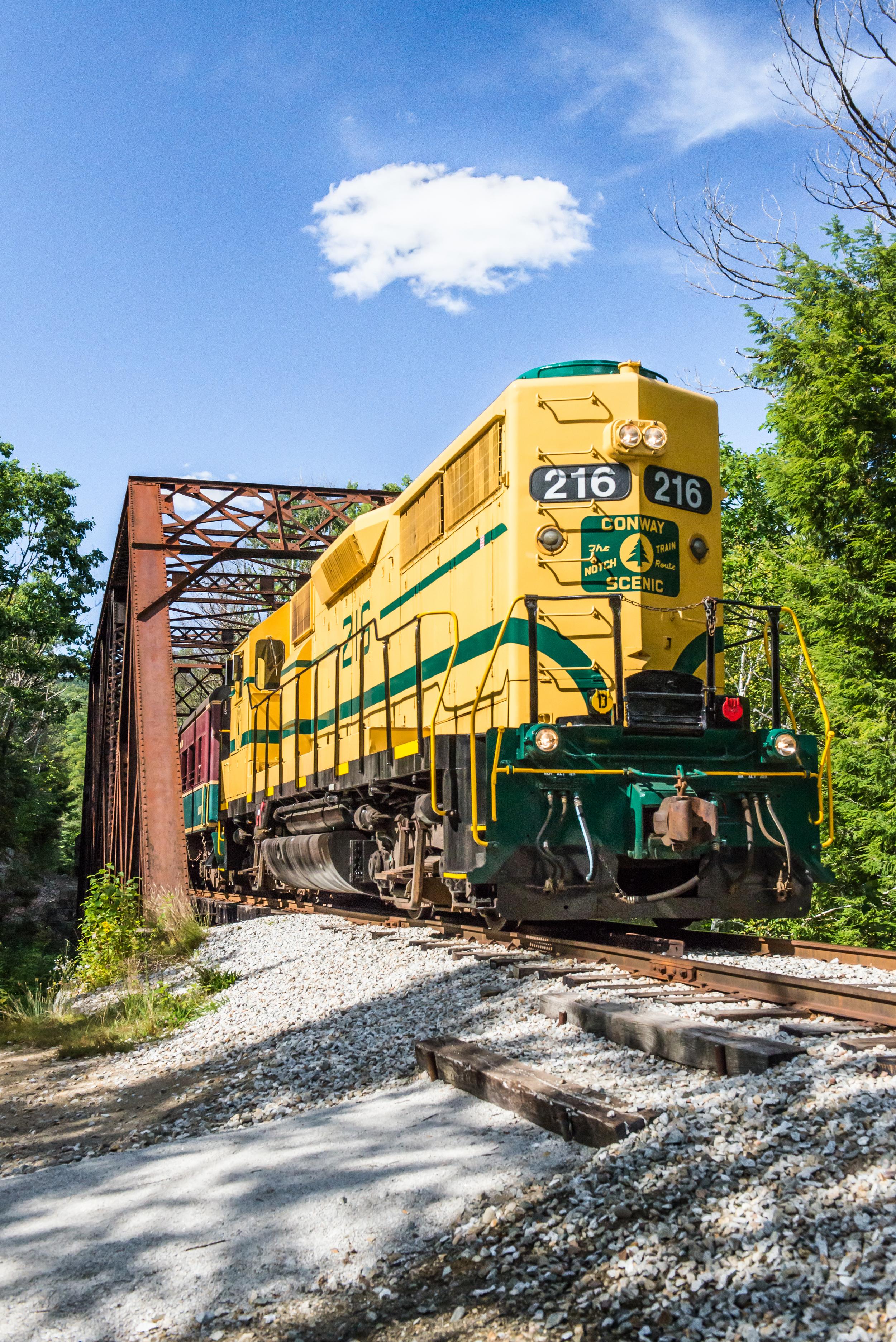 Diesel on Bridge