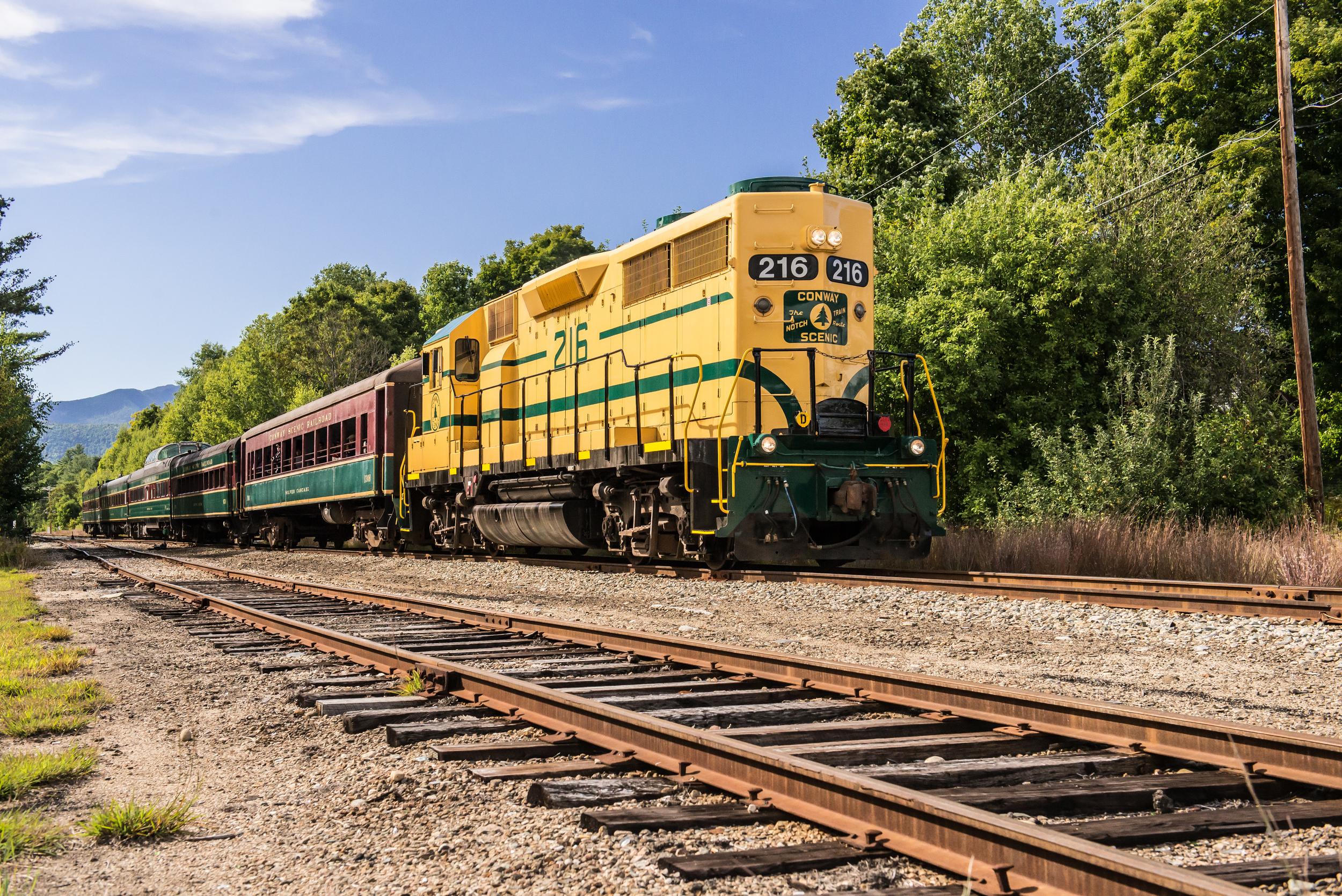 Crawford Notch Train 3