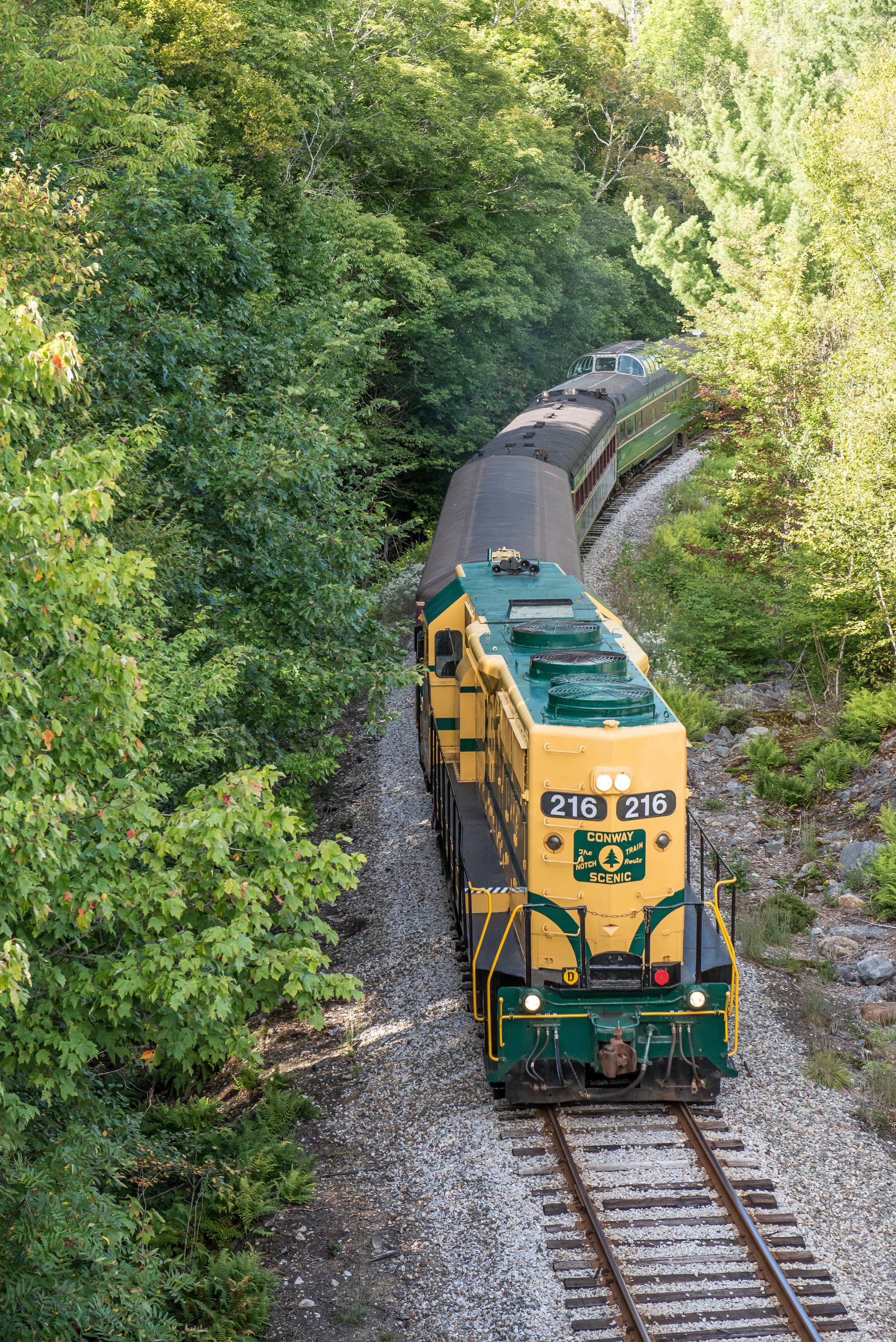 Crawford Notch Train 2