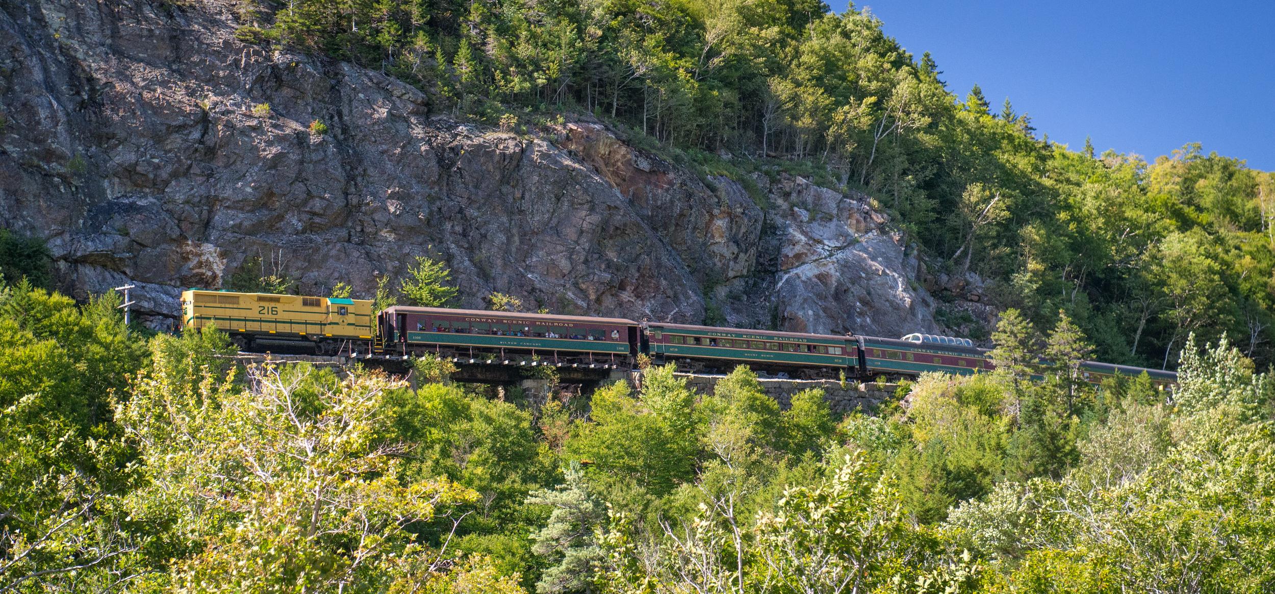 Crawford Notch Train 4