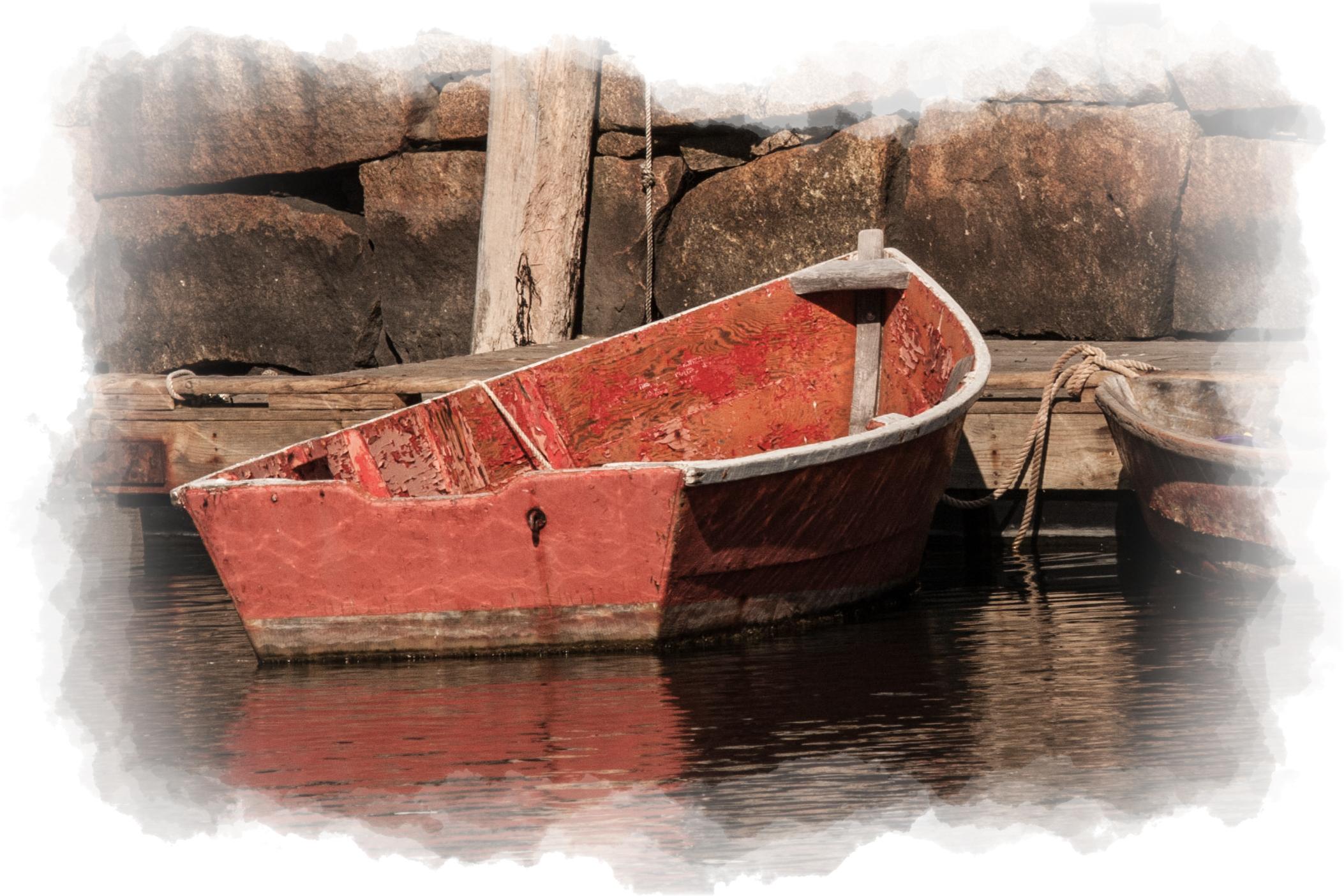 Moored Rowboat