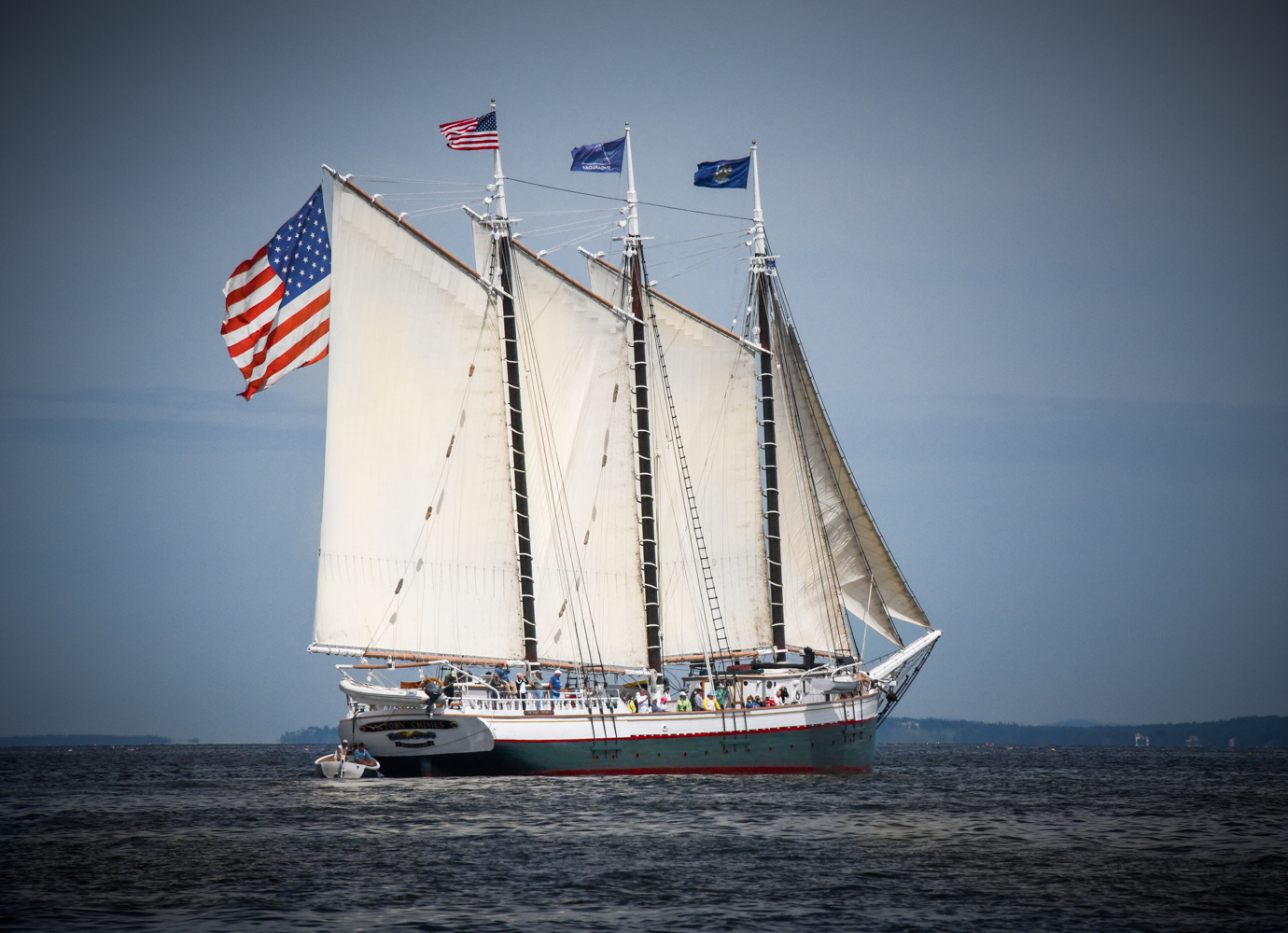 Windjammers at Rockland, Maine