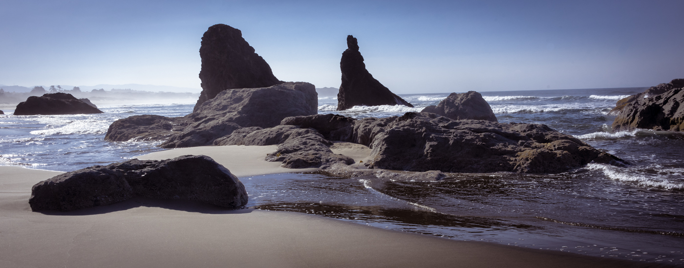 Afternoon on Bandon Beach
