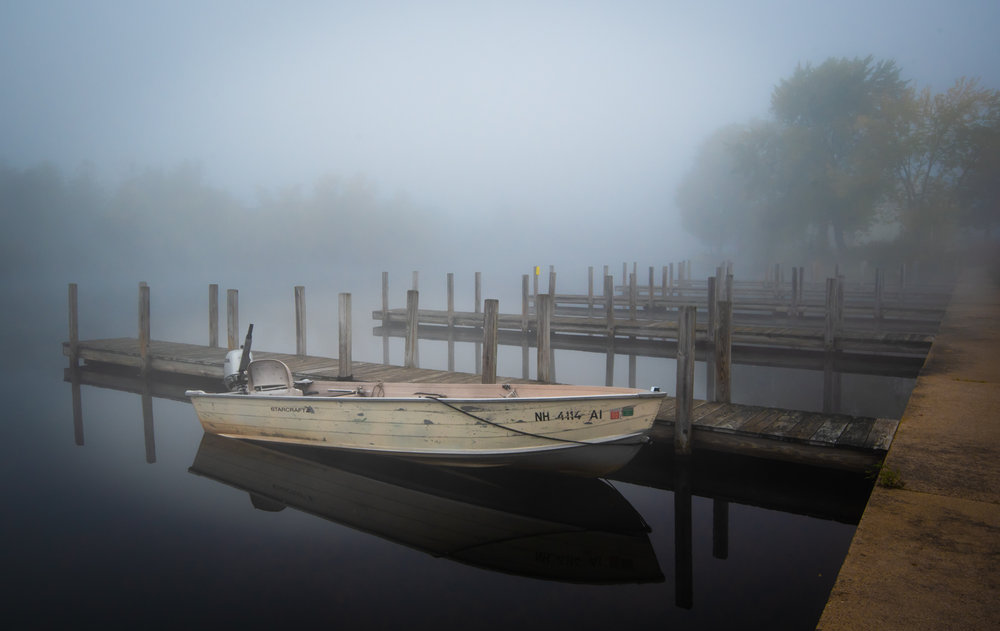 Calm Stillness in Fog