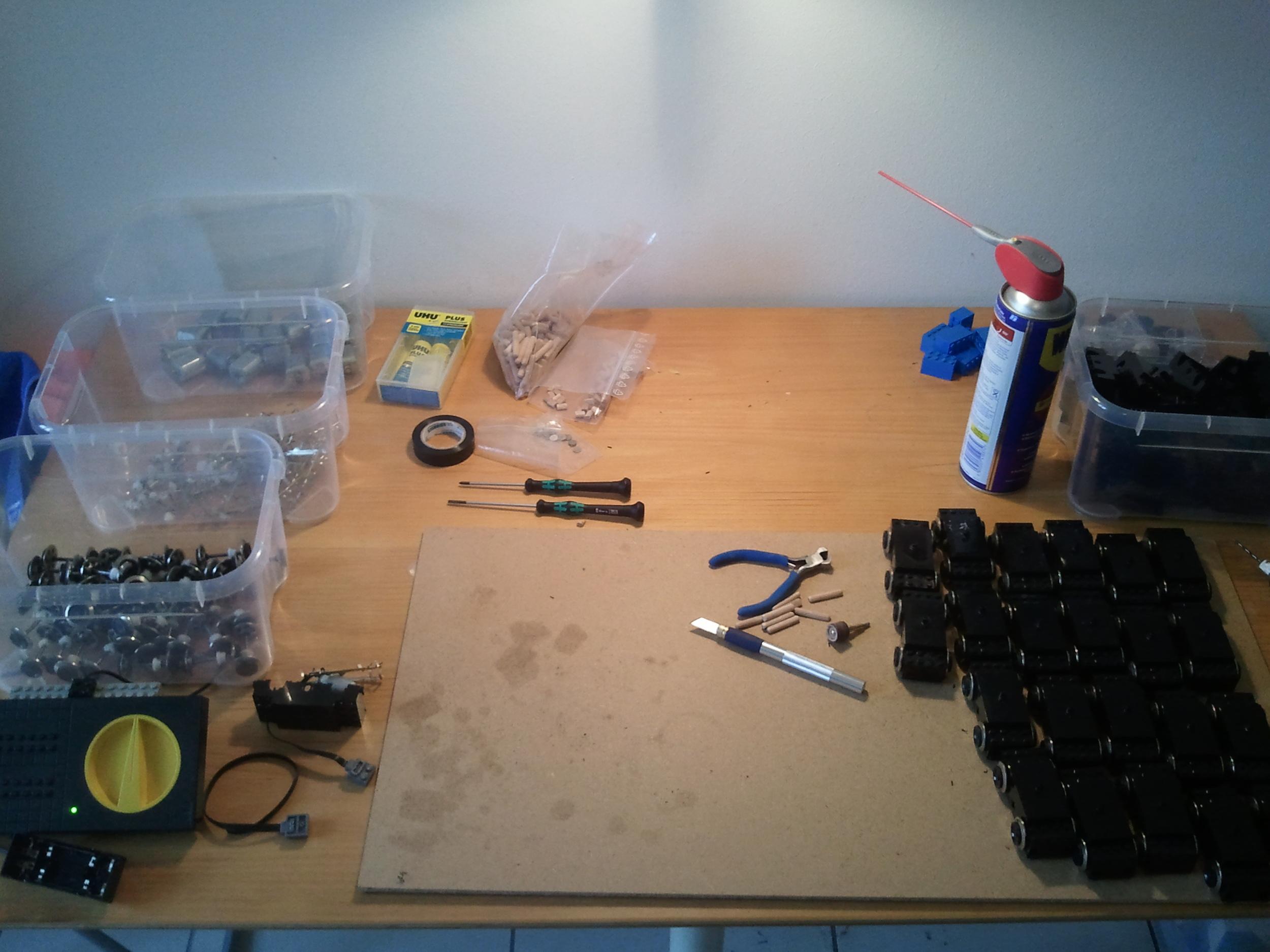 Converting 9V train motors