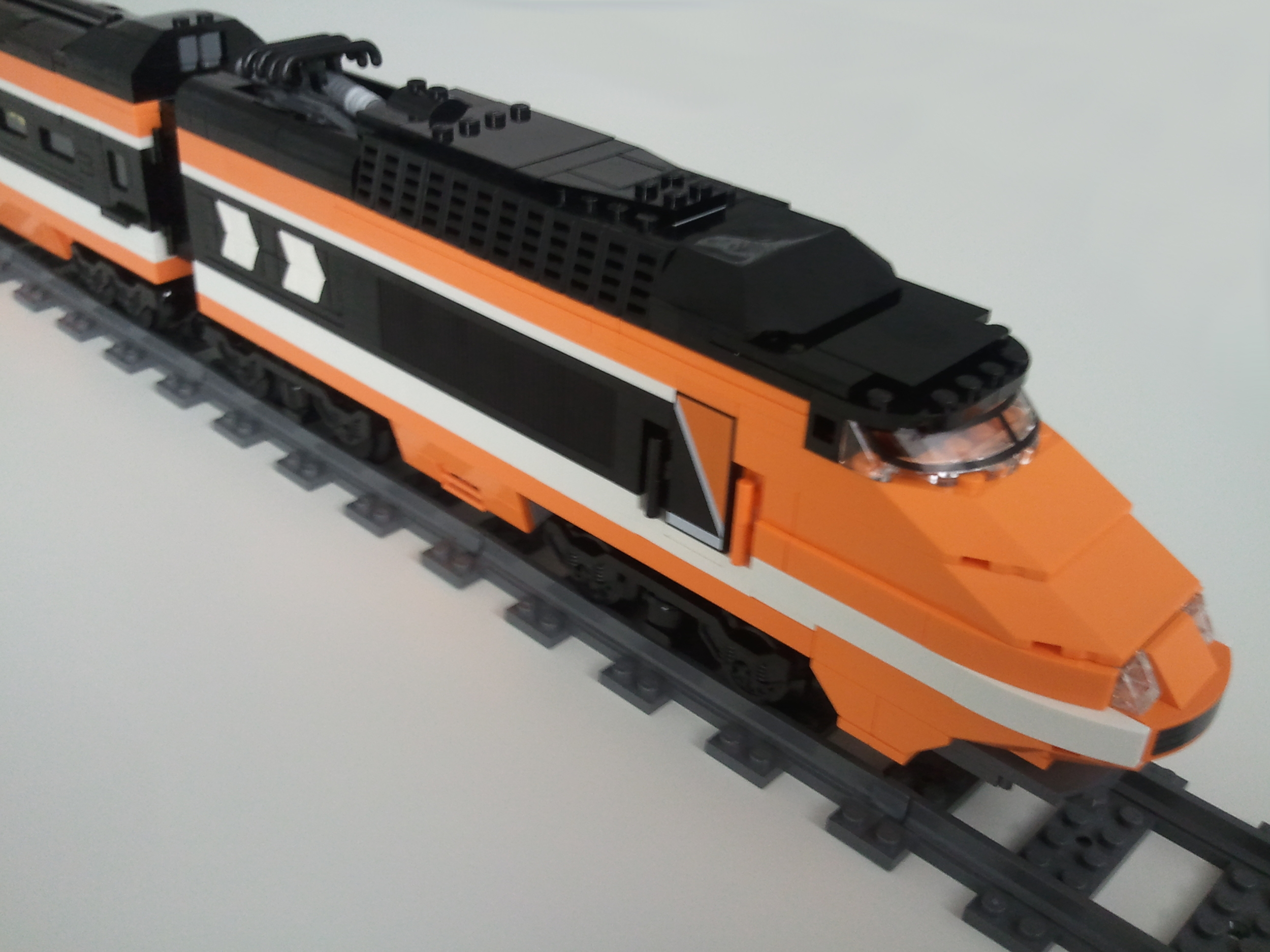 Looks like the old orange TGV