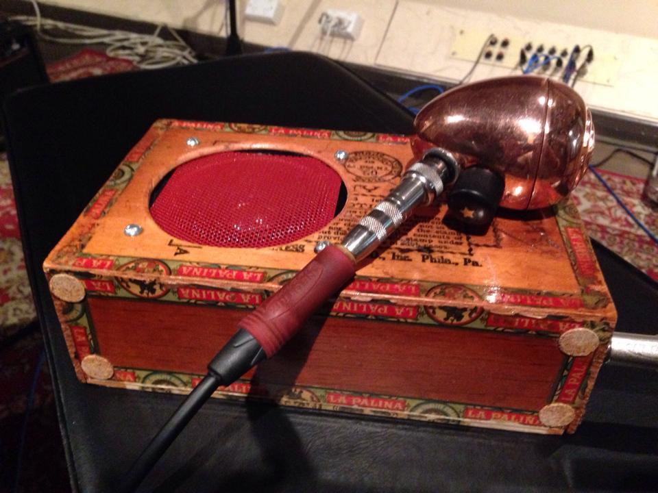 Roger's Cigar-Box rig