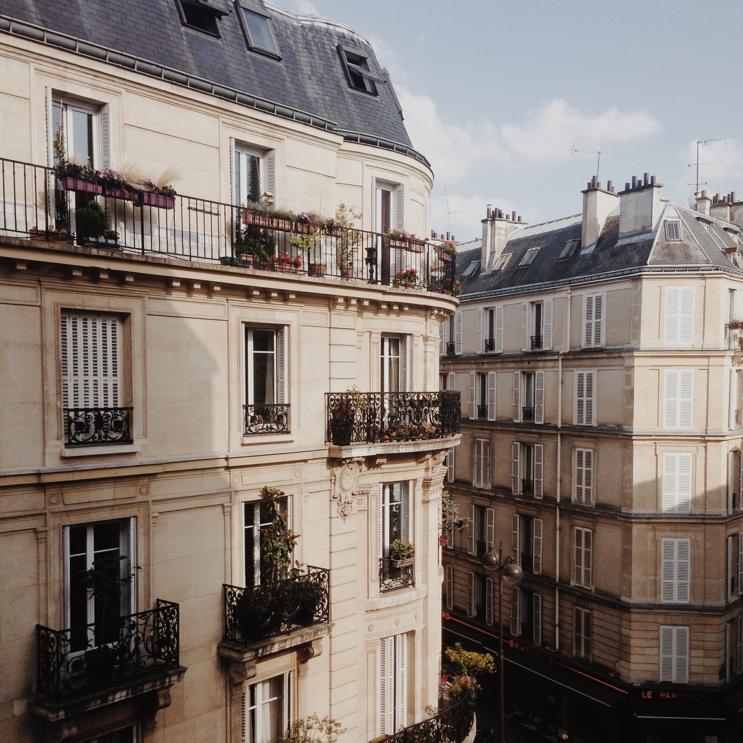 Our Montmartre apartment, photo by  Ms Amy Farrell