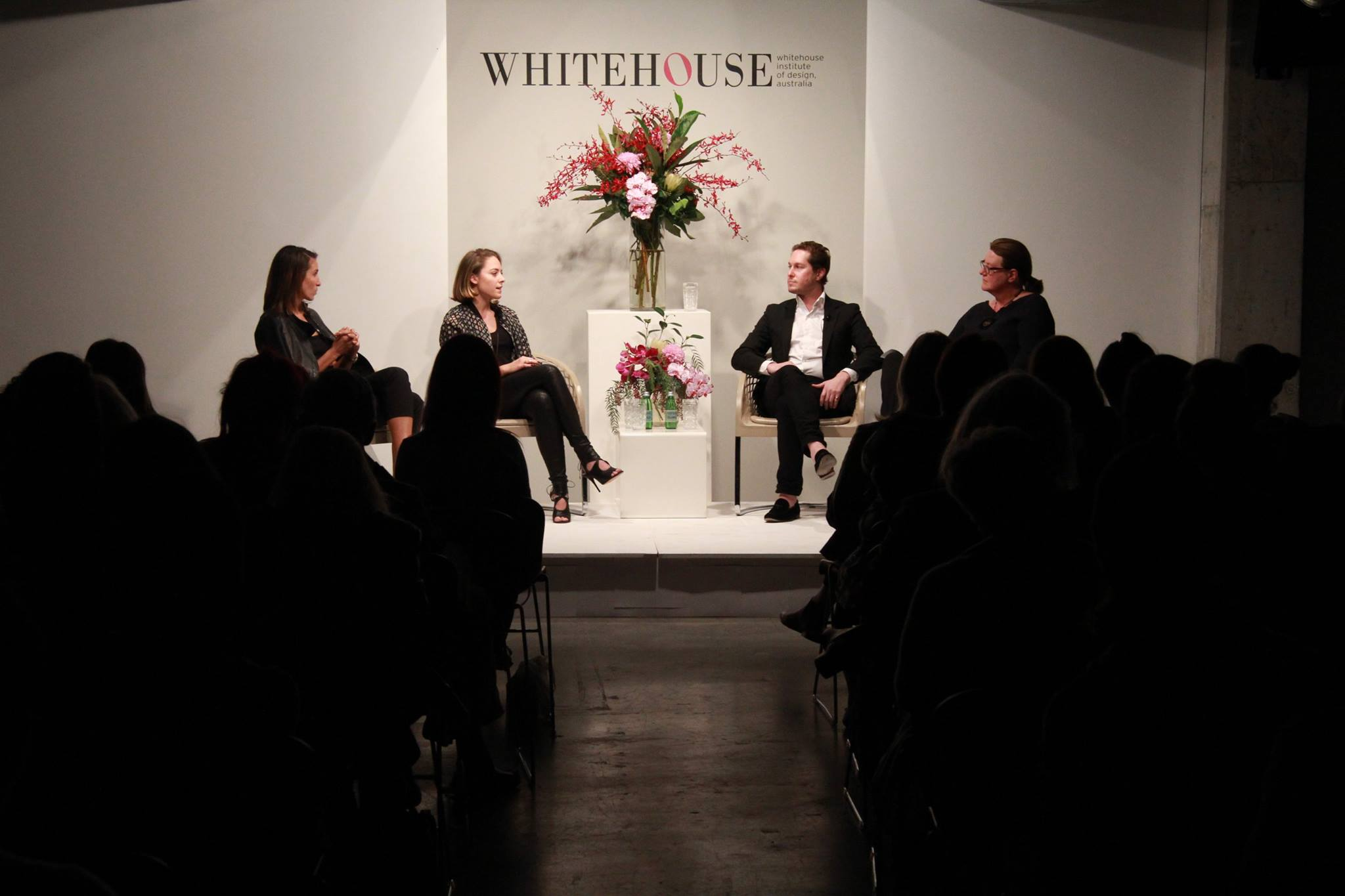 The panel, Image courtesy of the Whitehouse Institute Of Design