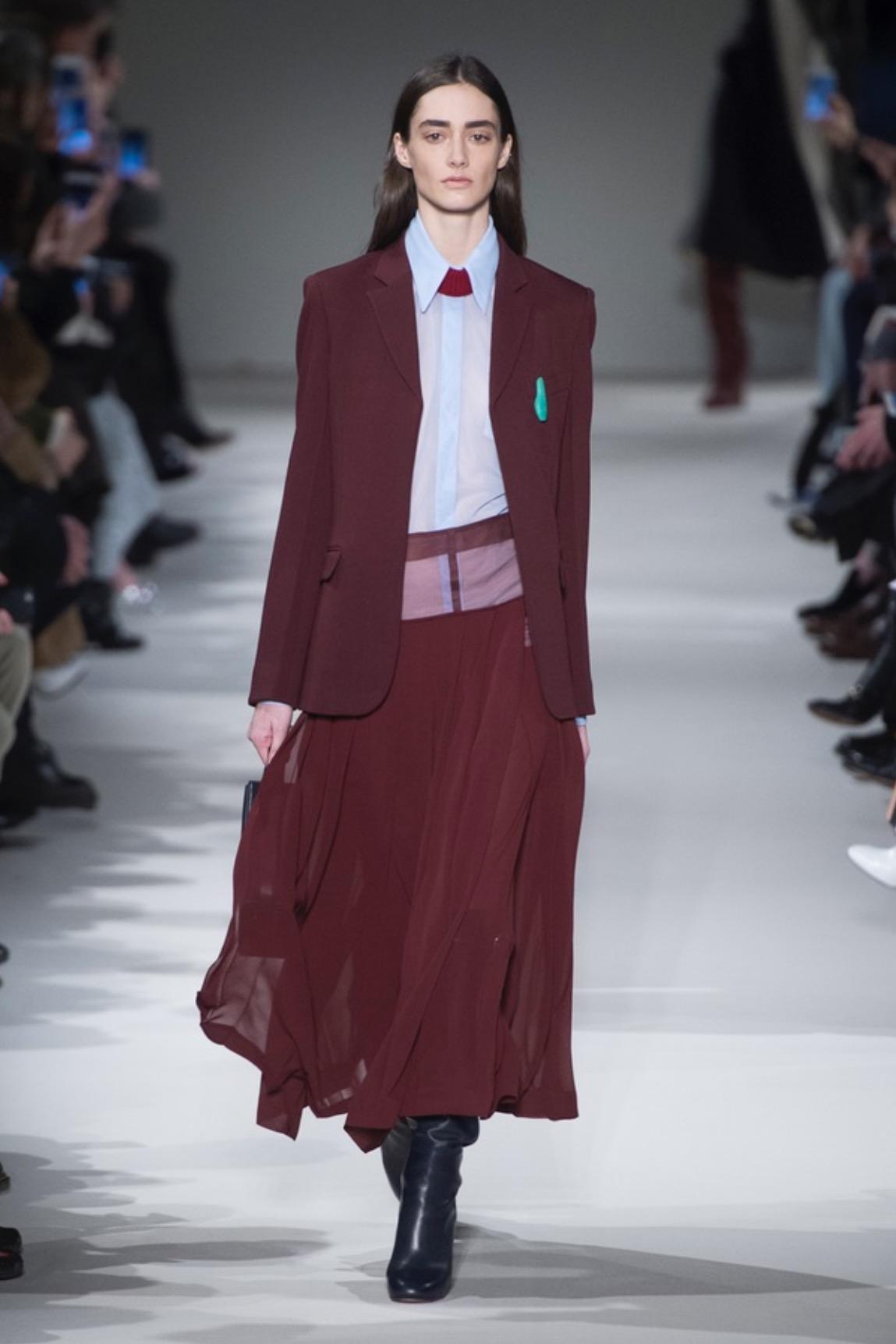 Victoria Beckham AW17, via  The Business Of Fashion