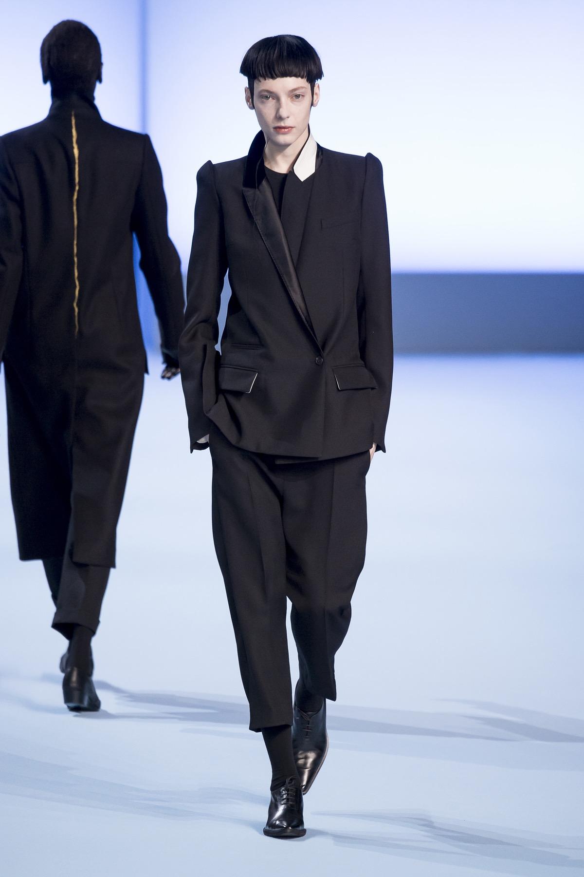Haider Ackermann Autumn 2017, image via The Business Of Fashion
