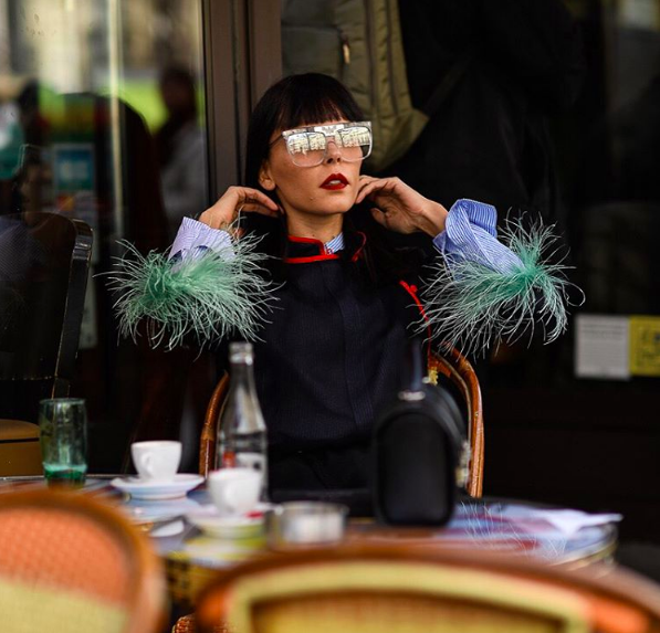 Street Scenes, Paris Fashion Week by Shooting The Style for BOF