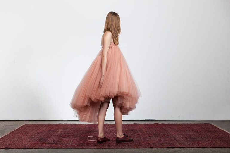 Inspiration: Celebrating fashion in Beirut, image from Lara Khoury's SS17 collection titled LK Fountain.