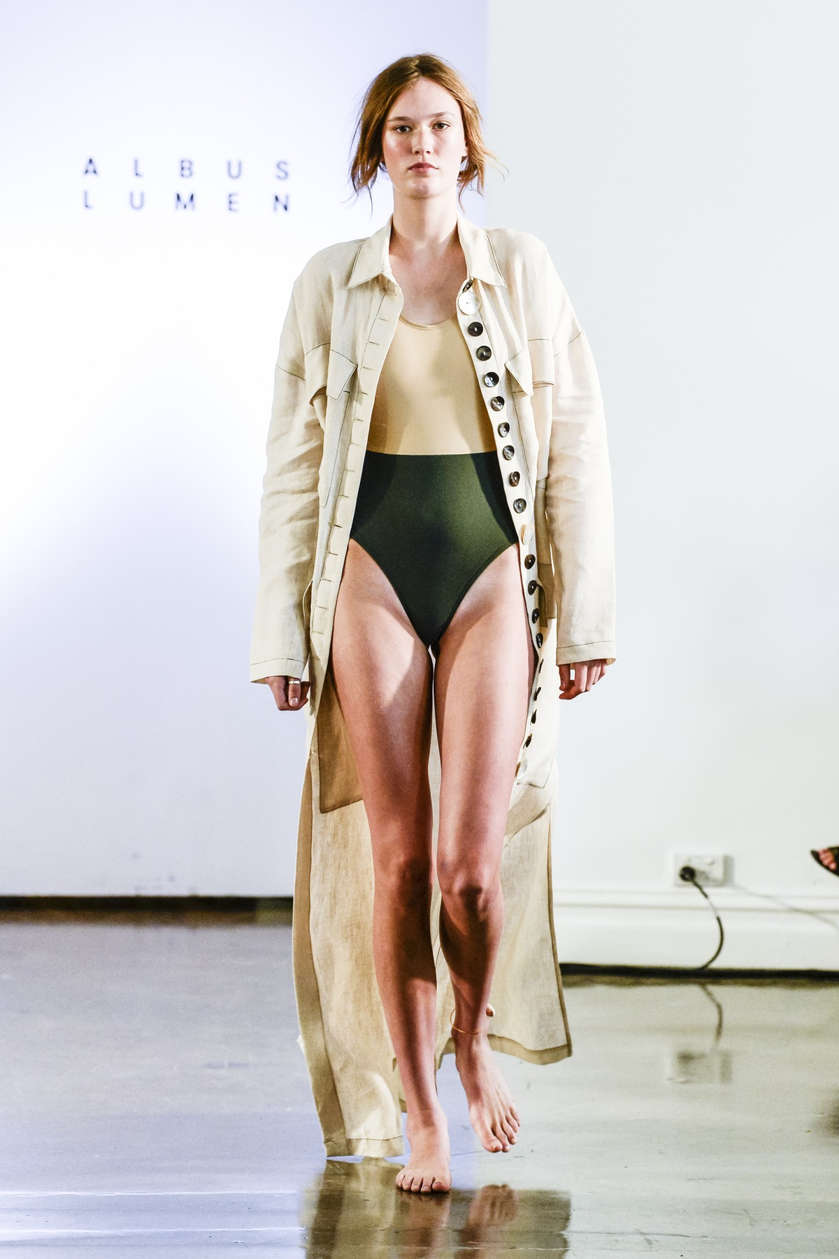 Albus Lumen Resort 2018, image via The Business Of Fashion