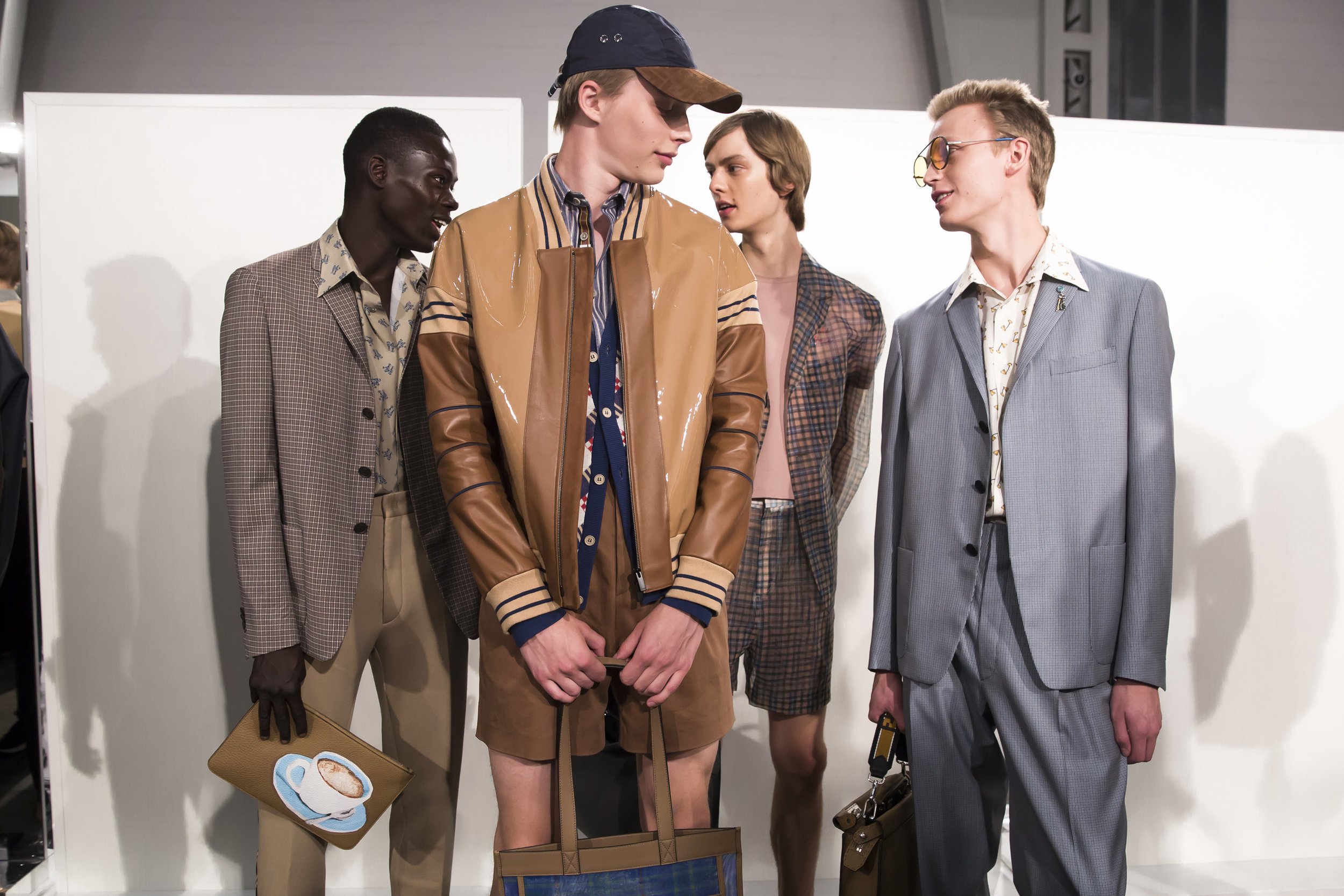 Trends : Escapism and optimism in Milano -  Fendi Spring 2018 via The Business Of Fashion