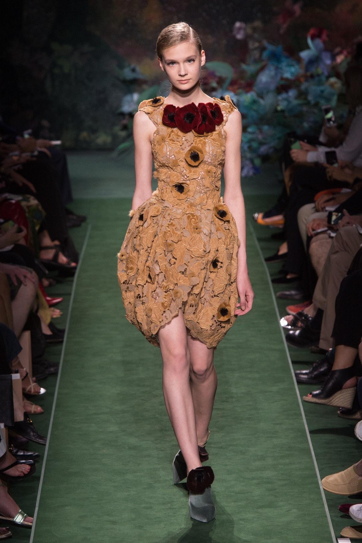 Fendi Autumn 2017 Haute Couture, image via The Business Of Fashion