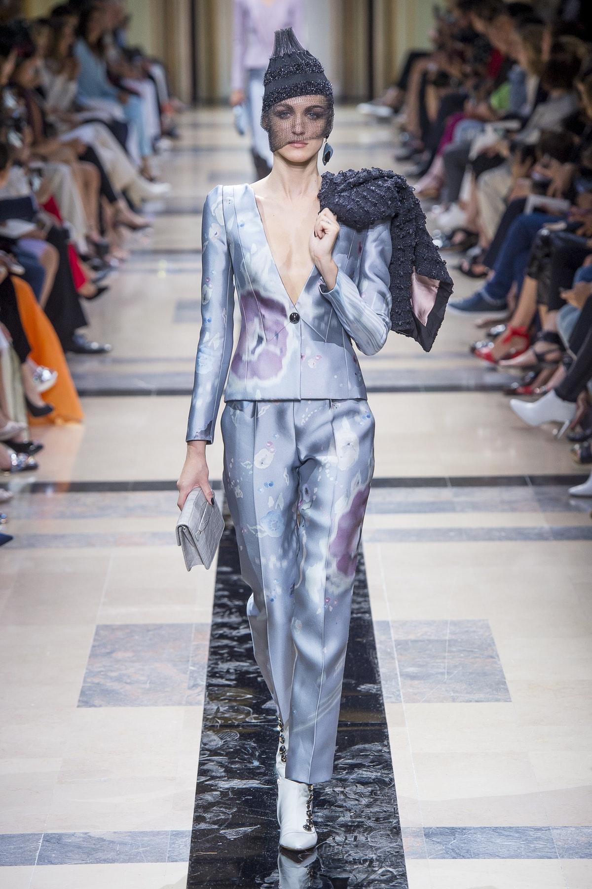 Giorgio Armani Autumn 2017 Haute Couture, image via The Business Of Fashion