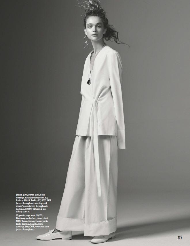 NATALIJA in the press - Elle Australia, August 2017
