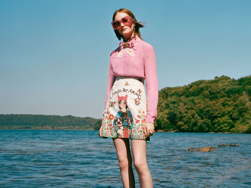 Image from the Gucci Unskilled Worker collection