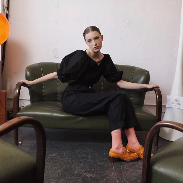 Eternal @autark_ wardrobe favourites, the puff sleeve bodice and high waisted pant. Worn here by @psyyyche @people.agency and captured shot by @thatwindingroad. ⠀⠀⠀⠀⠀⠀⠀⠀⠀ ⠀⠀⠀⠀⠀⠀⠀⠀⠀ Try these beauties and chat with the lovely @autark_ designer, Sophia in person at the @afc_curated pop up at the @strandarcade from tomorrow until the 16th May.⠀⠀⠀⠀⠀⠀⠀⠀⠀ ⠀⠀⠀⠀⠀⠀⠀⠀⠀ #autark #afccurated #ausfashioncouncil #futureoffashion #australianfashion #australiandesign #shoplocal #localfashion #thefashionfuturistbrands