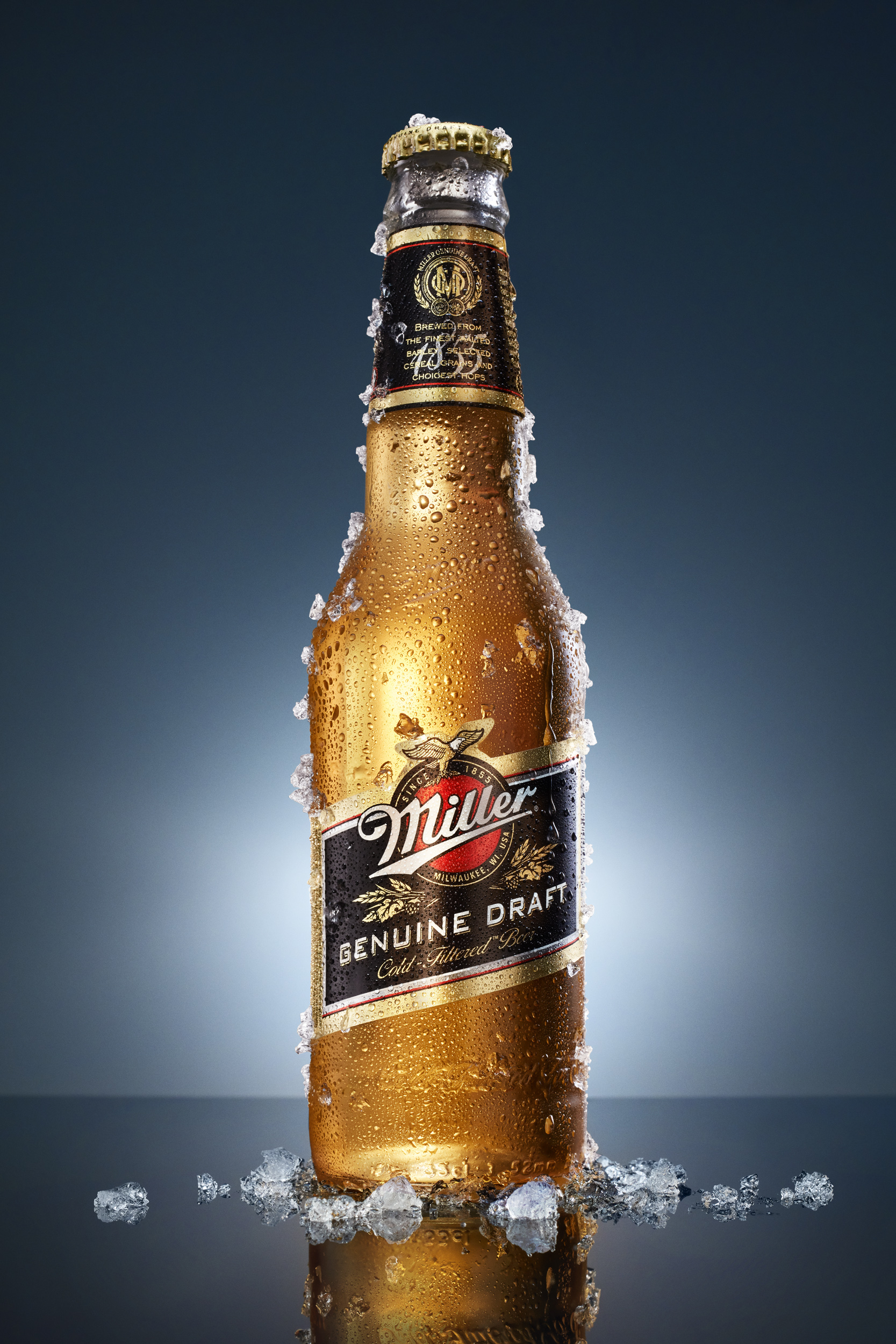 Miller beer shot by Mikael Pettersson