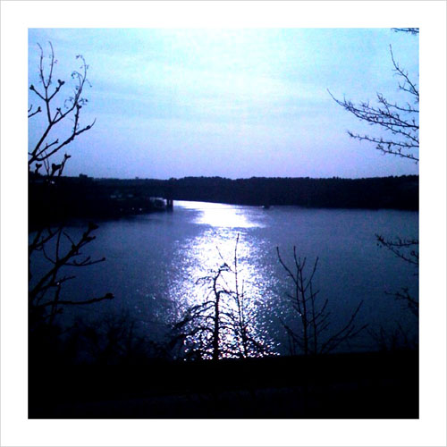 iPhone photography: The ice on the lake has melted!