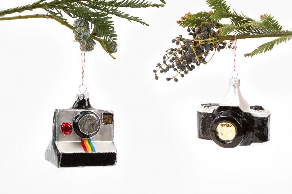 Christmas Tree Camera Ornaments