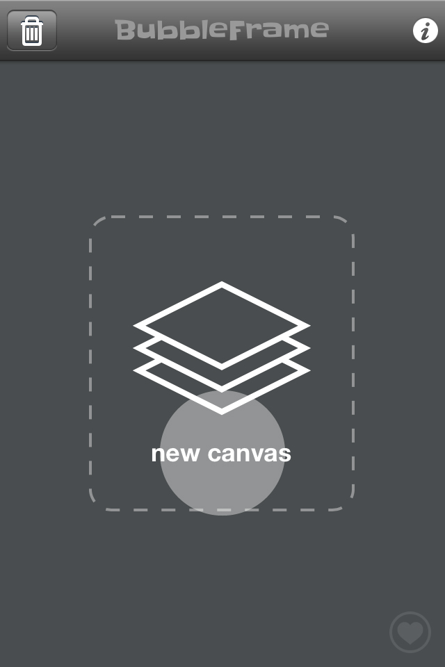 Starting a new canvas