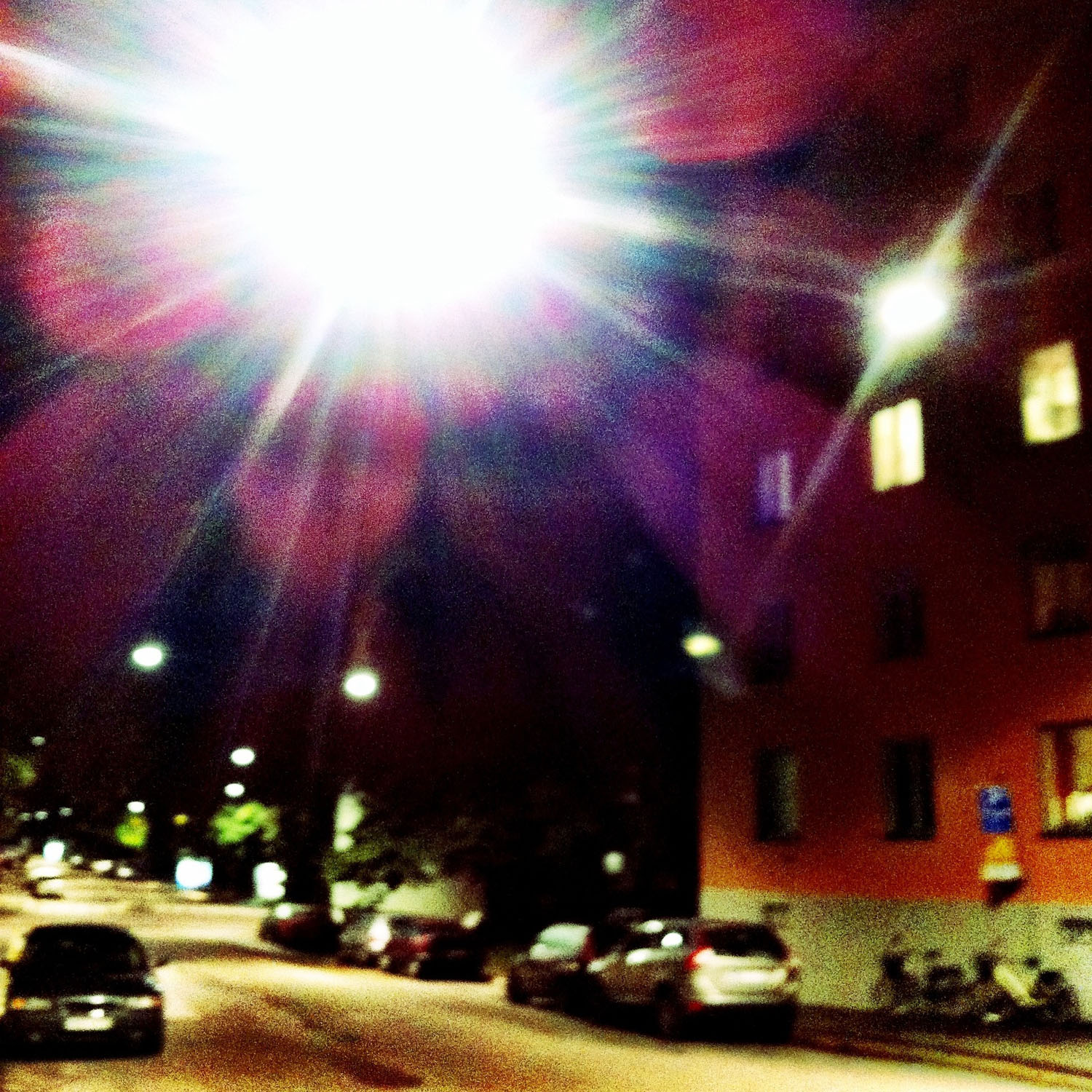 mobile photography: walking hom